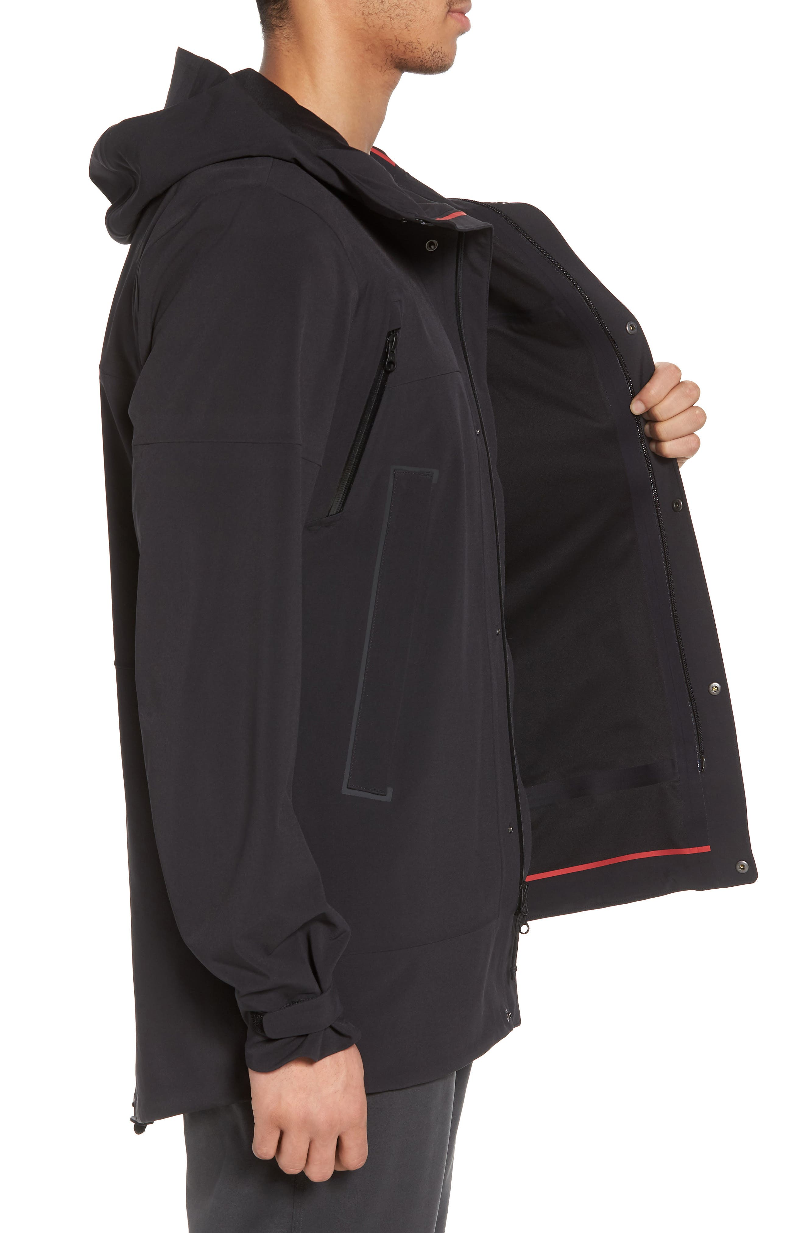 THE NORTH FACE, Apex Flex Gore-Tex<sup>®</sup> Parka, Alternate thumbnail 4, color, 001