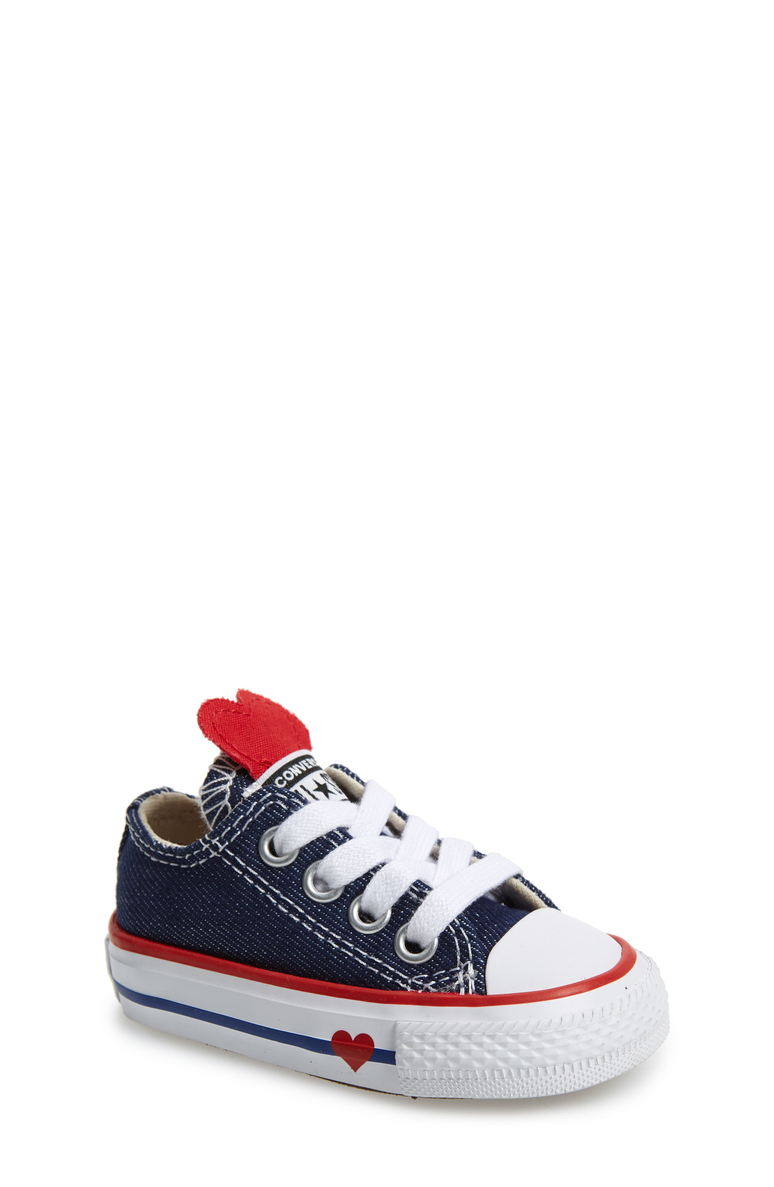 CONVERSE, Chuck Taylor<sup>®</sup> All Star<sup>®</sup> Ox Low Top Sneaker, Main thumbnail 1, color, 410