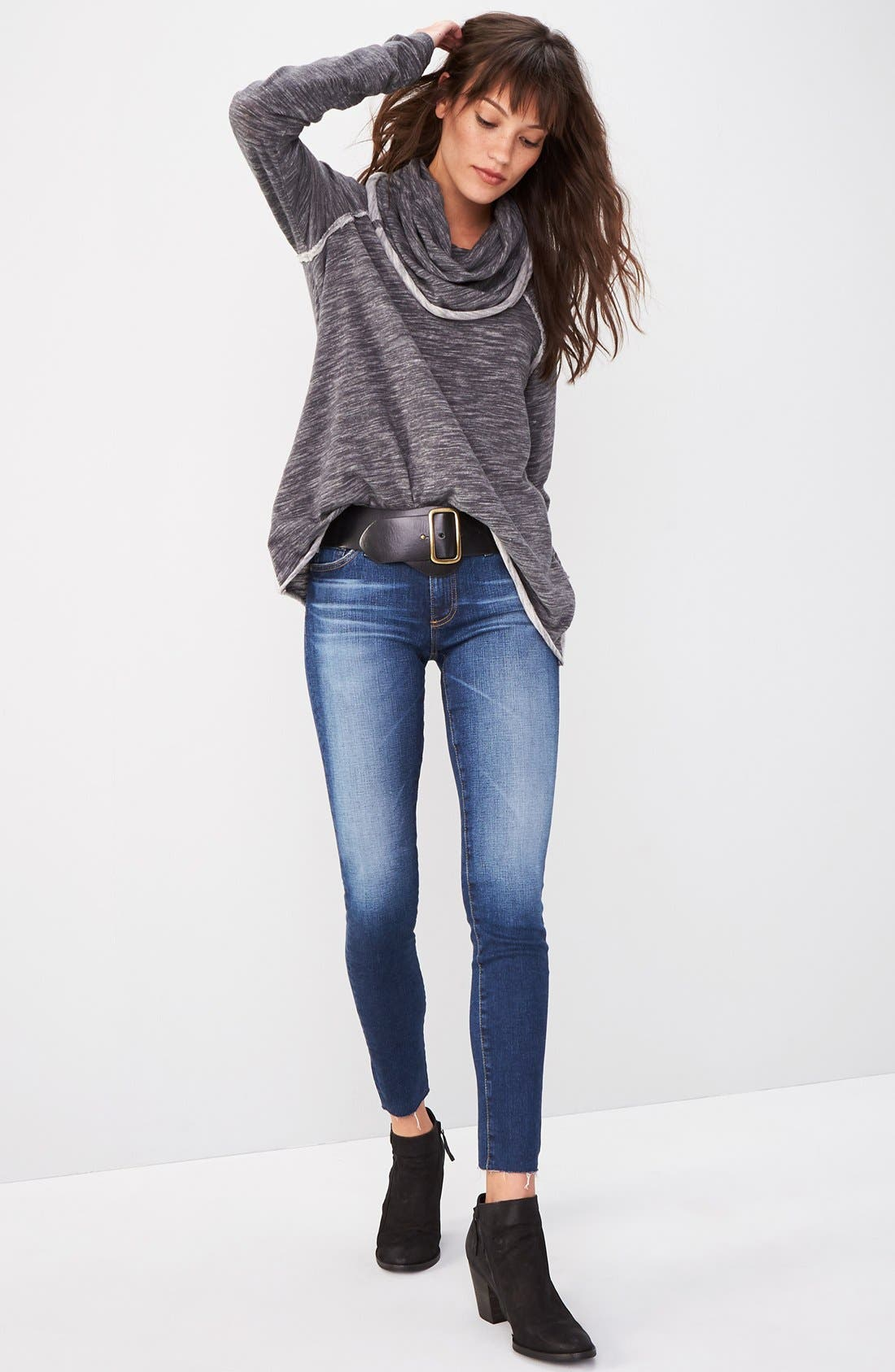 AG, 'The Legging' Ankle Jeans, Alternate thumbnail 7, color, 7YR BREAK W/ RAW HEM