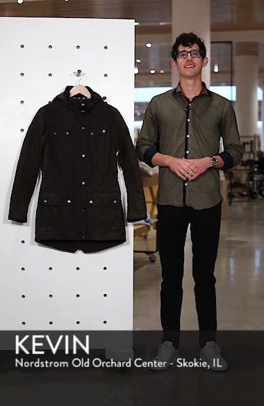 'Arrow' Quilted Anorak, sales video thumbnail