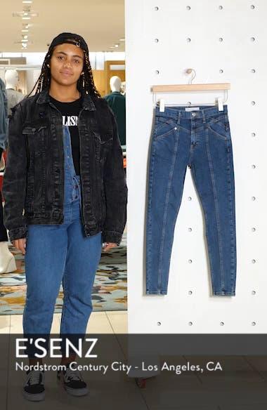 Jamie Panel High Waist Skinny Jeans, sales video thumbnail