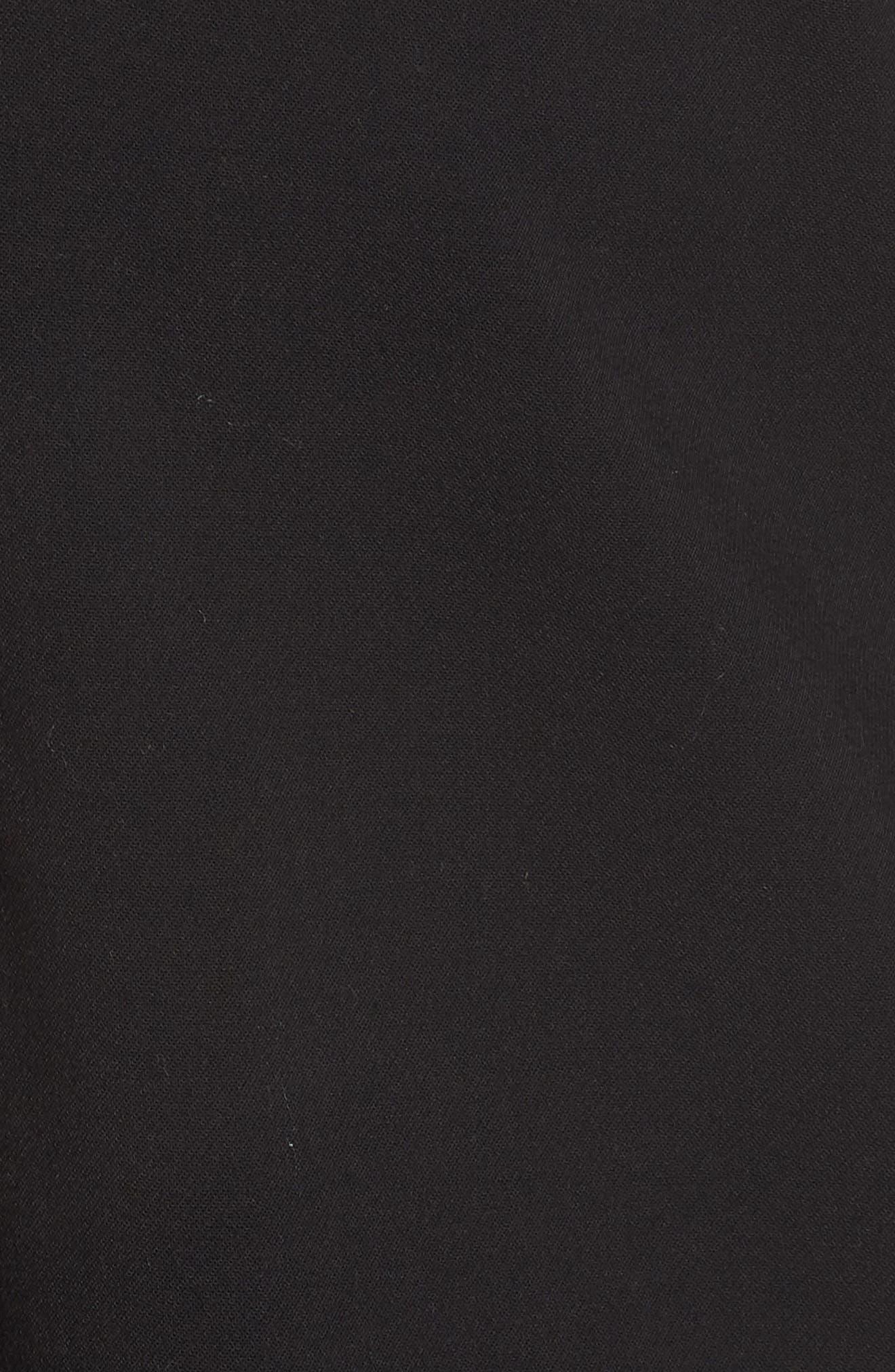 HALOGEN<SUP>®</SUP>, Stretch Twill Blazer, Alternate thumbnail 7, color, BLACK