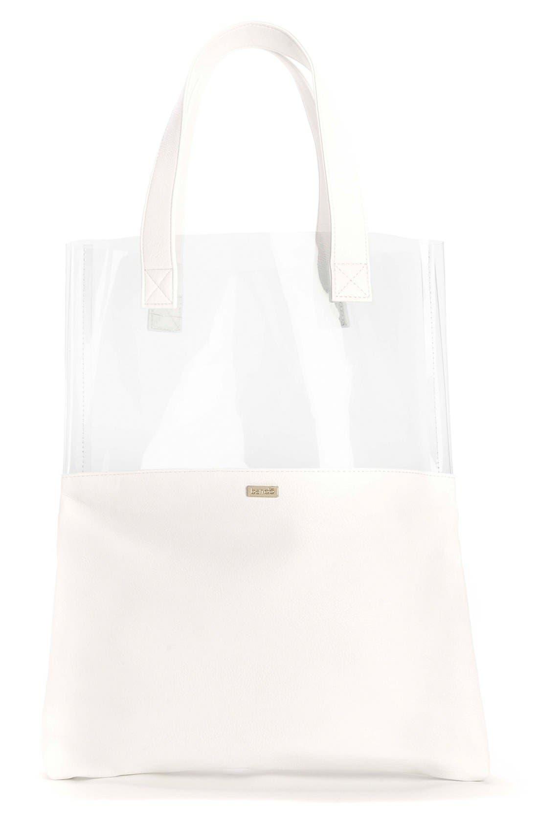 BAN.DO 'Peekaboo' Tote Bag, Main, color, 100