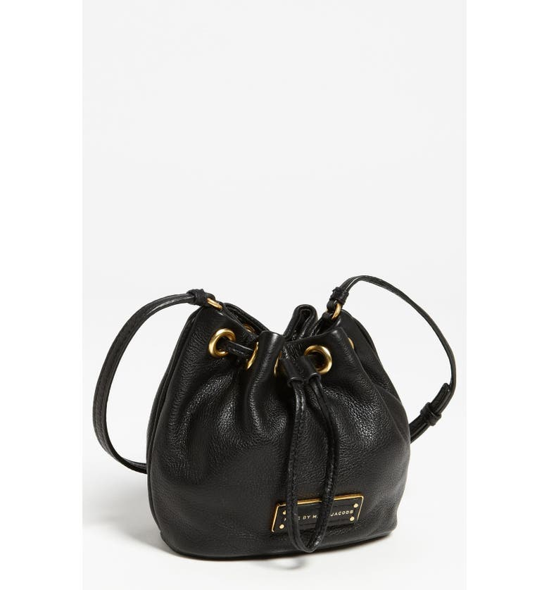 66aeffd13851 MARC JACOBS MARC BY MARC JACOBS  Too Hot to Handle - Mini  Leather  Drawstring