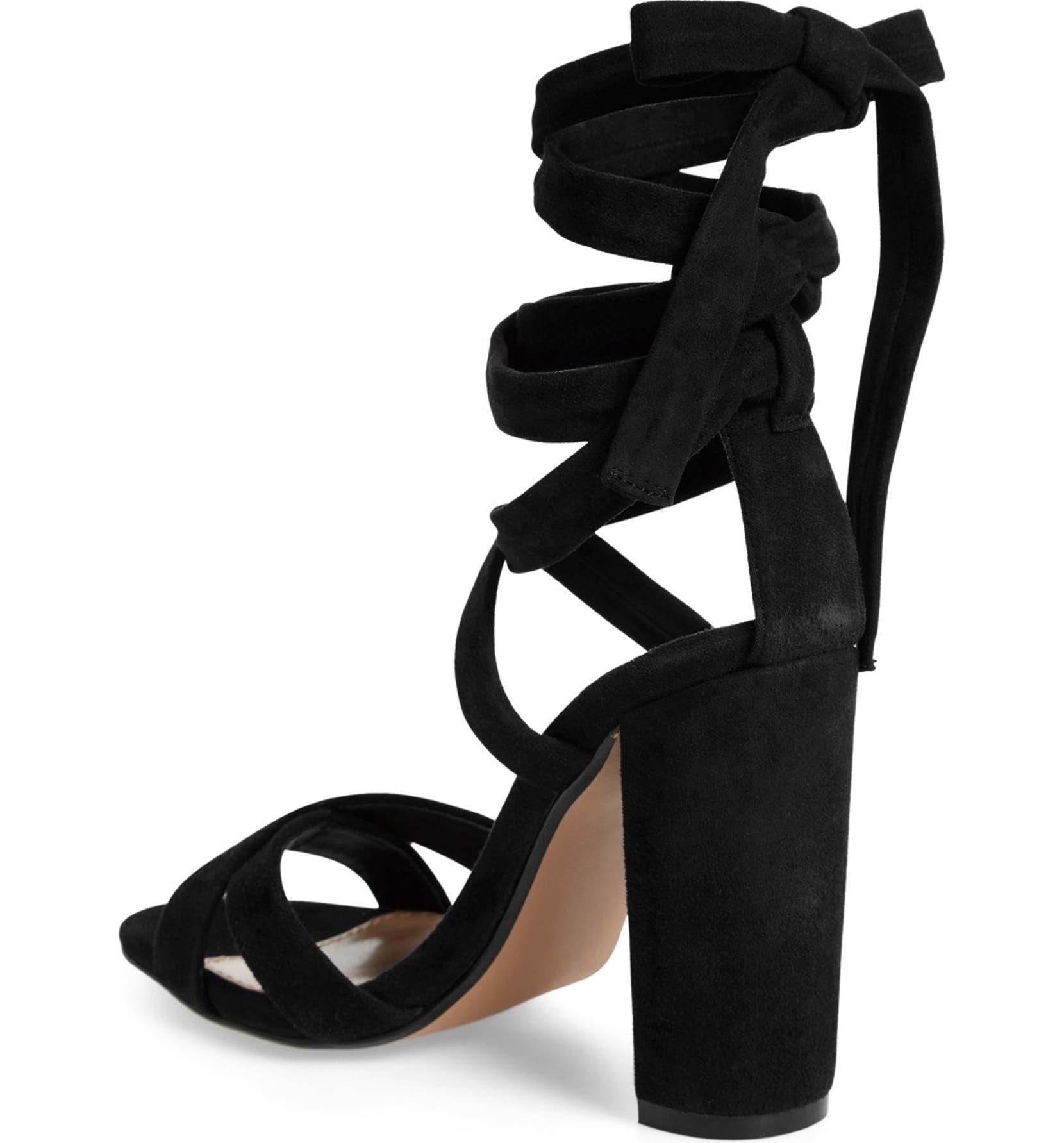 eb05f26f80f Steve Madden  Christey  Wraparound Ankle Tie Sandal (Women)