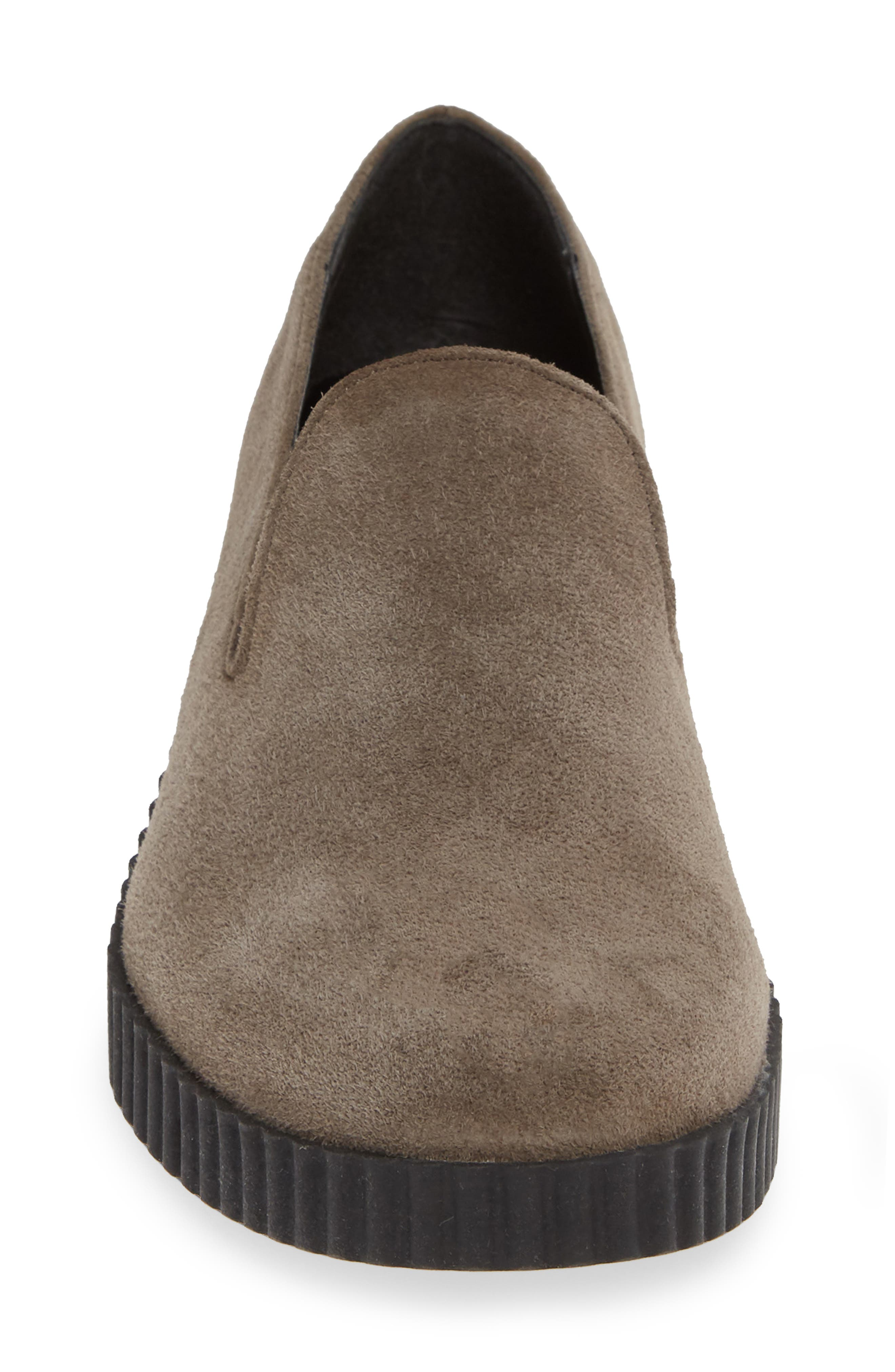 THE FLEXX, Fast Times Loafer, Alternate thumbnail 4, color, BROWN SUEDE
