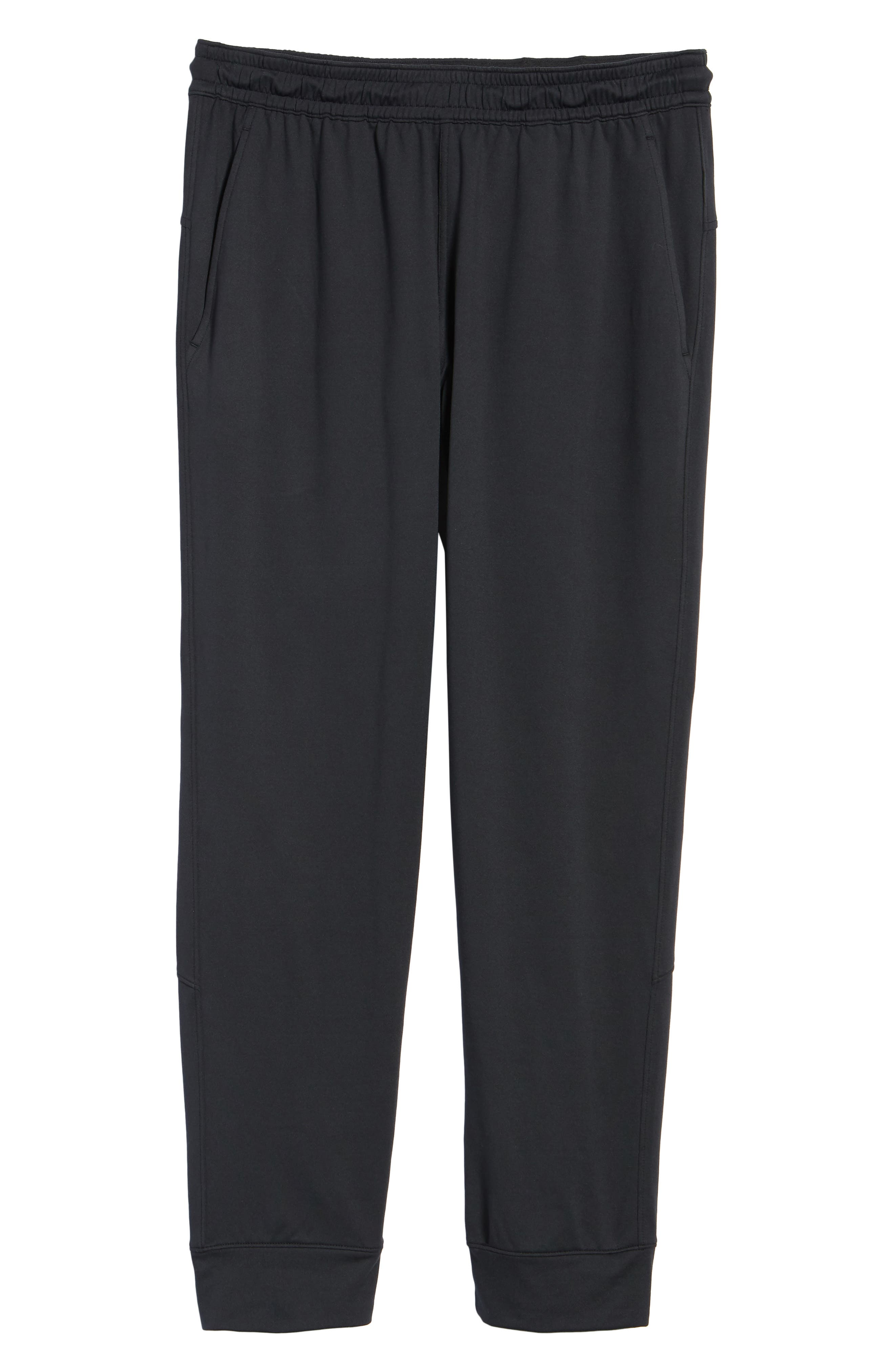 ZELLA, Pyrite Technical Jogger Pants, Alternate thumbnail 7, color, BLACK