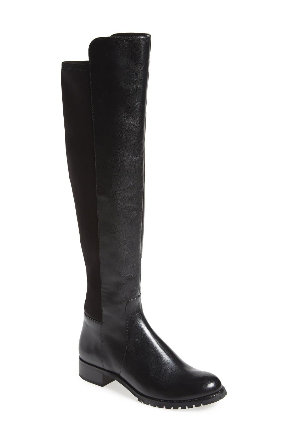 MICHAEL MICHAEL KORS 'Joanie' Boot, Main, color, 001