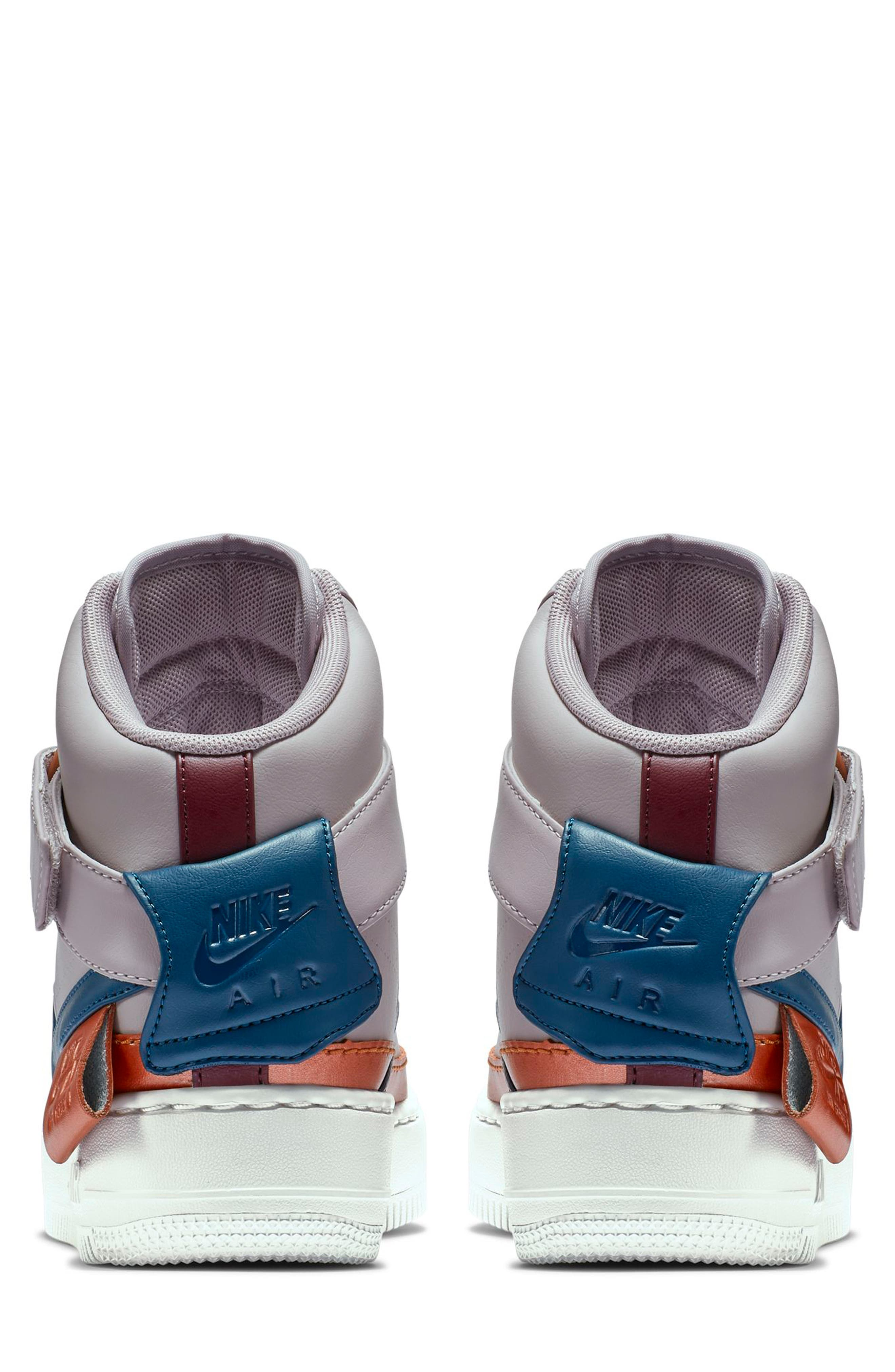 NIKE, Air Force 1 Jester High XX Sneaker, Alternate thumbnail 2, color, 500