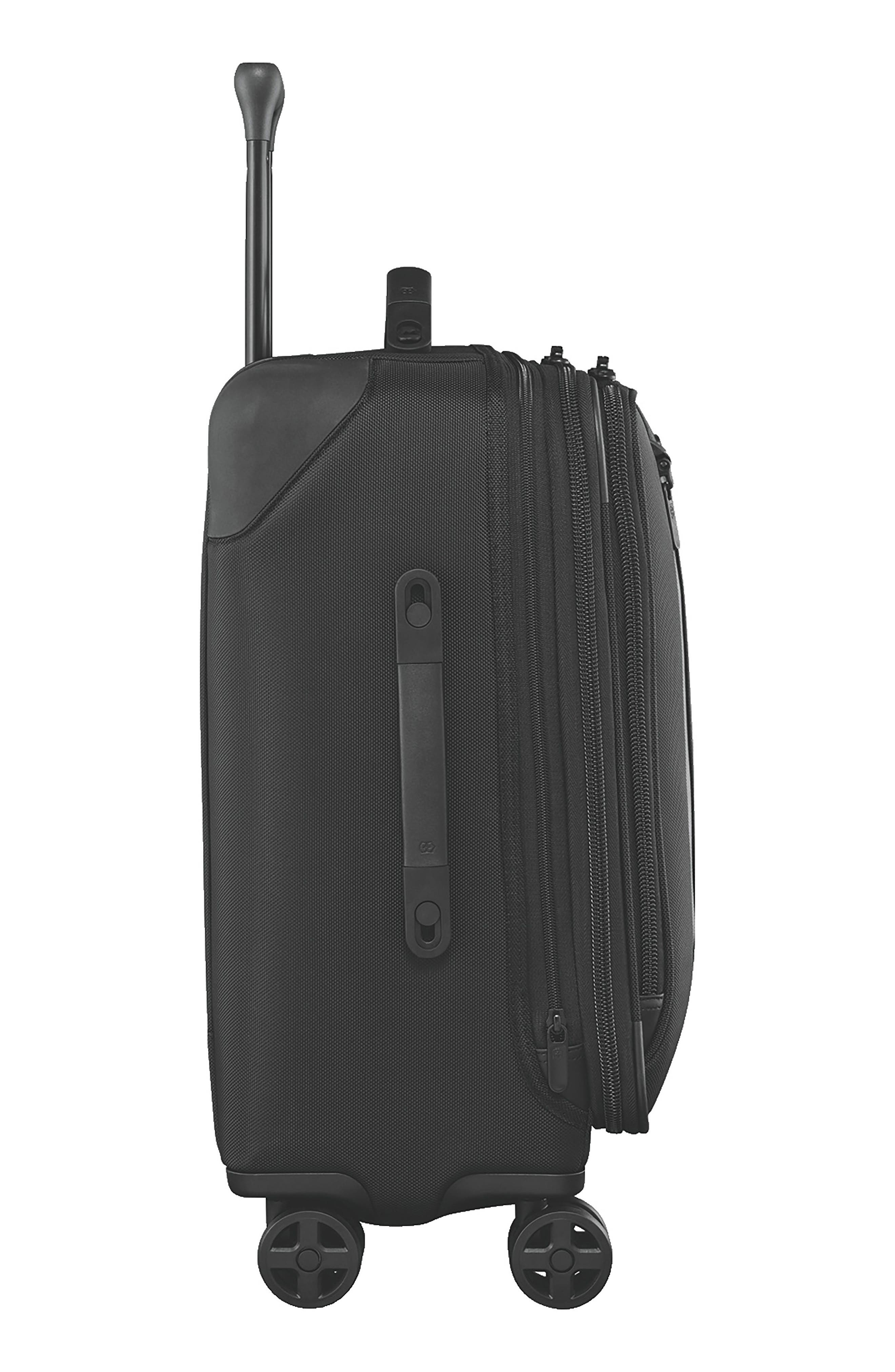 VICTORINOX SWISS ARMY<SUP>®</SUP>, Lexicon 2.0 24-Inch Wheeled Suitcase, Alternate thumbnail 3, color, BLACK