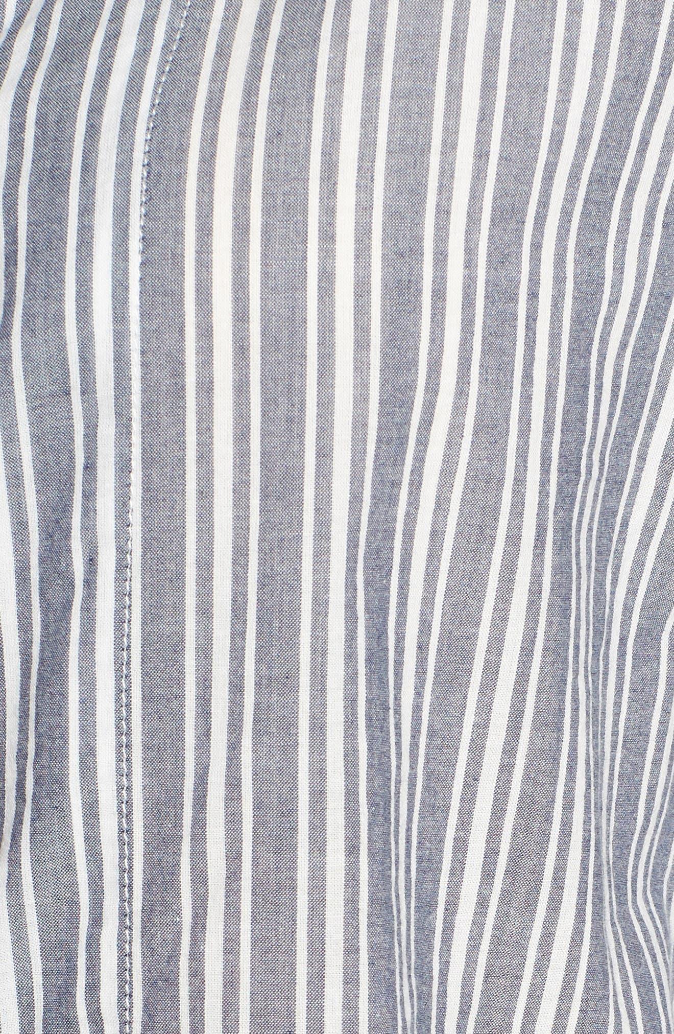 PJ SALVAGE, Mon Cheri Pajamas, Alternate thumbnail 5, color, DENIM