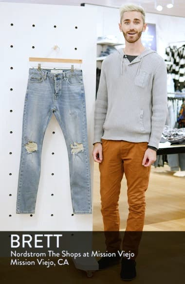 Ripped Stretch Skinny Jeans, sales video thumbnail