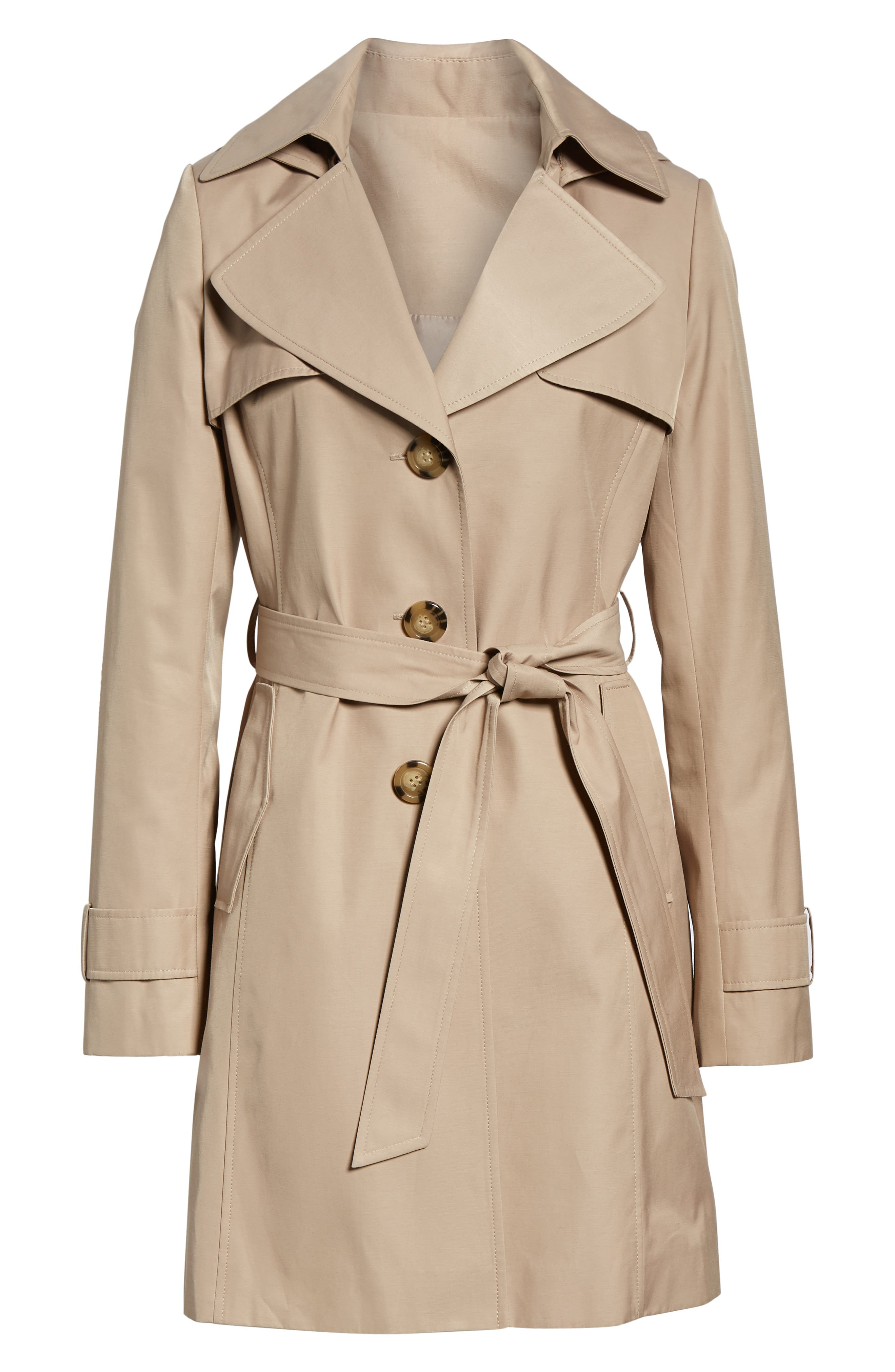 HALOGEN<SUP>®</SUP>, Hooded Trench Coat, Alternate thumbnail 6, color, 299
