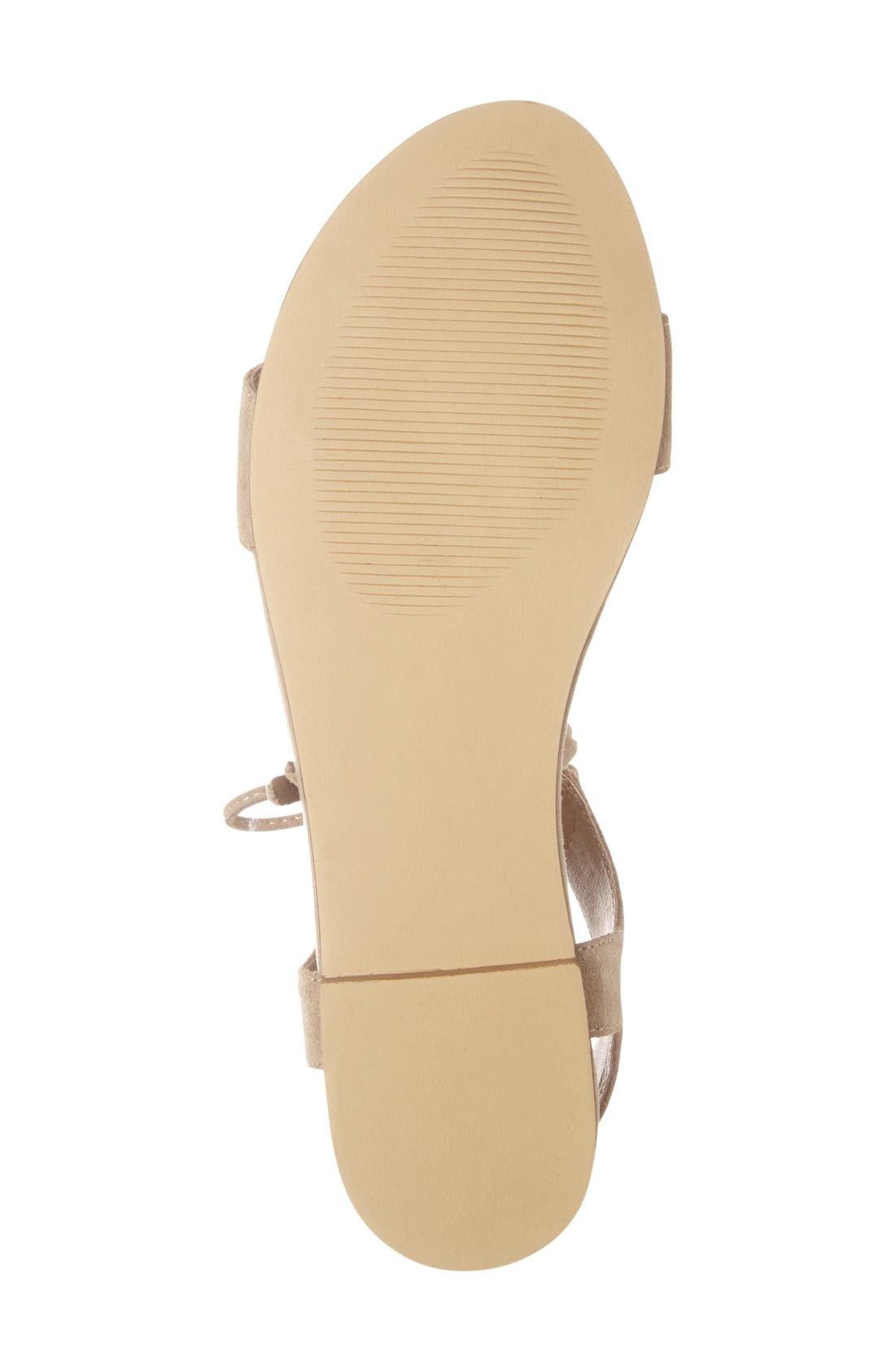 STEVE MADDEN, 'Elivait' Sandal, Alternate thumbnail 4, color, 250