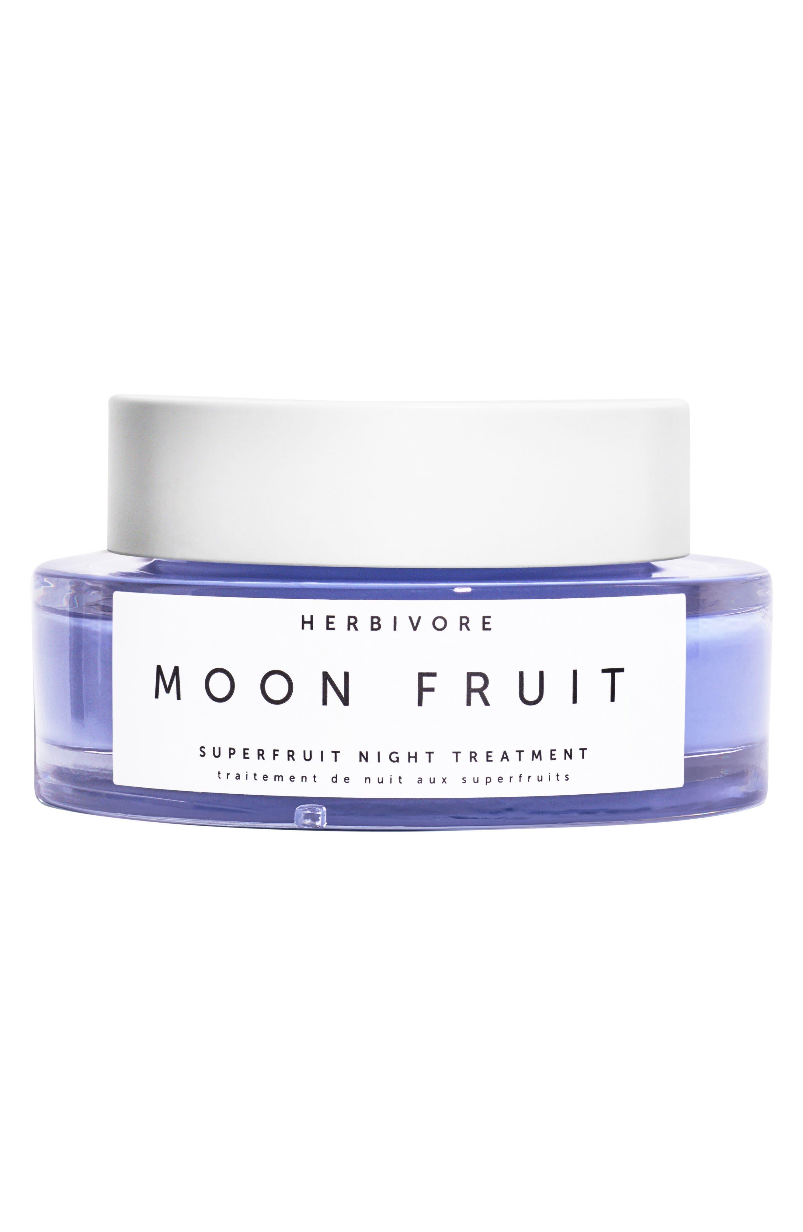 HERBIVORE BOTANICALS, Moon Fruit Superfruit Night Treatment, Main thumbnail 1, color, LAVENDER