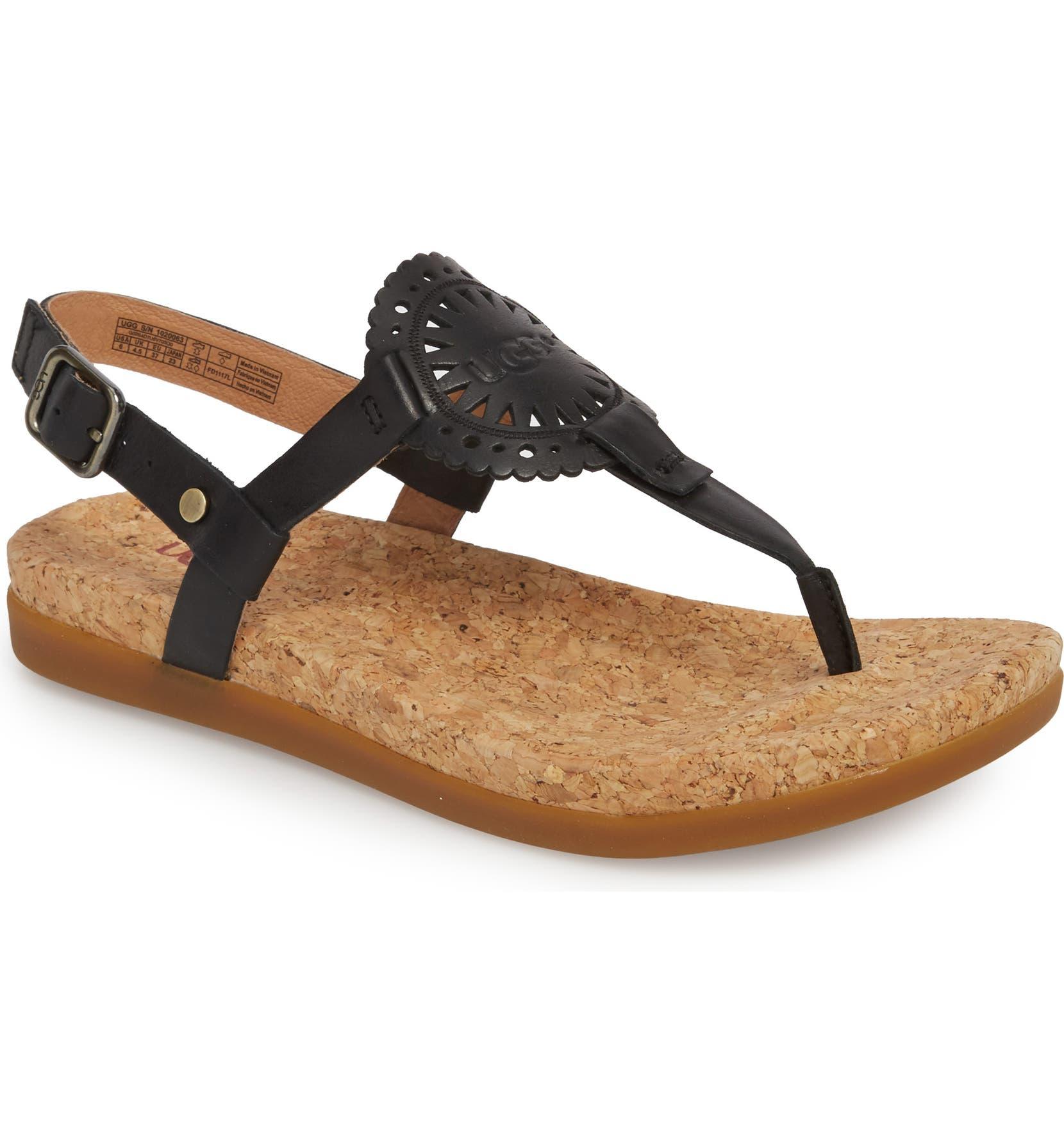 7a170bbd6b95 UGG® Ayden II T-Strap Sandal (Women)
