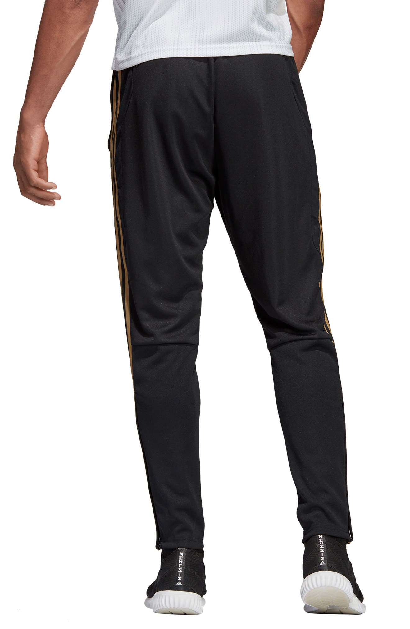 ADIDAS, Tiro 19 Training Pants, Alternate thumbnail 2, color, BLACK/ GOLD