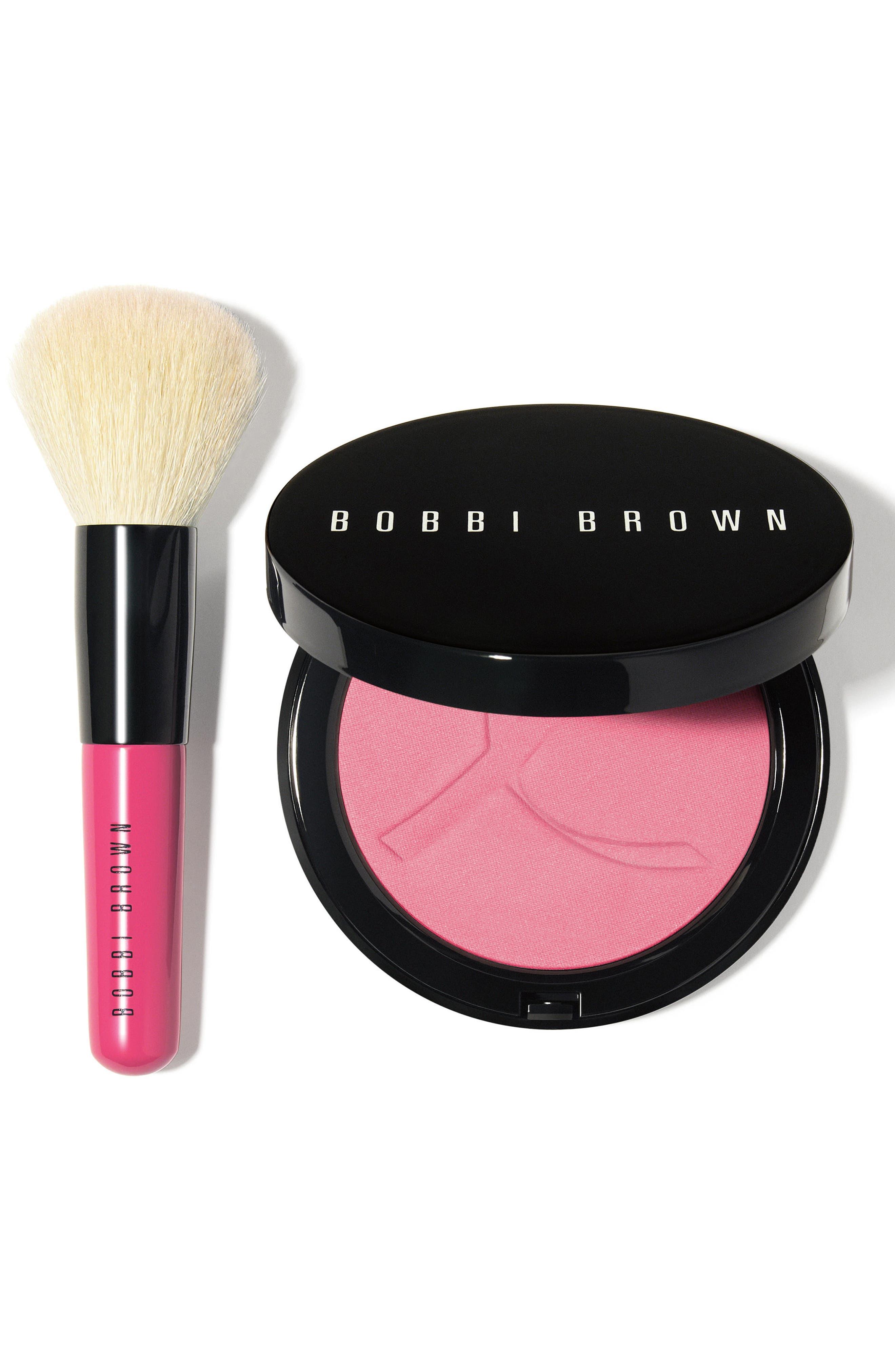 BOBBI BROWN, Pink Peony Illuminating Bronzing Powder Set, Main thumbnail 1, color, 000
