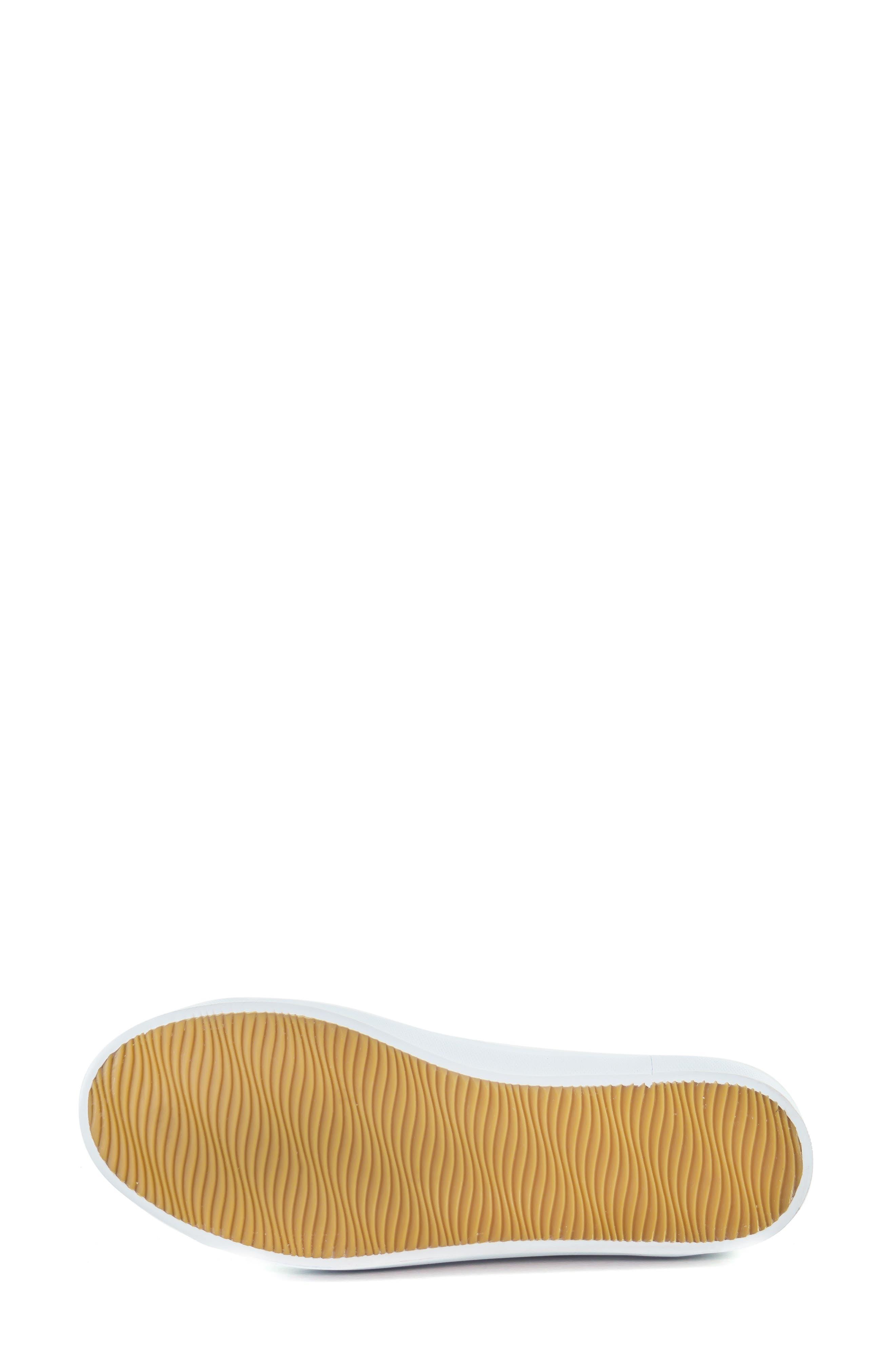 MARC JOSEPH NEW YORK, Jay Street Sneaker, Alternate thumbnail 6, color, BLACK PATCHWORK