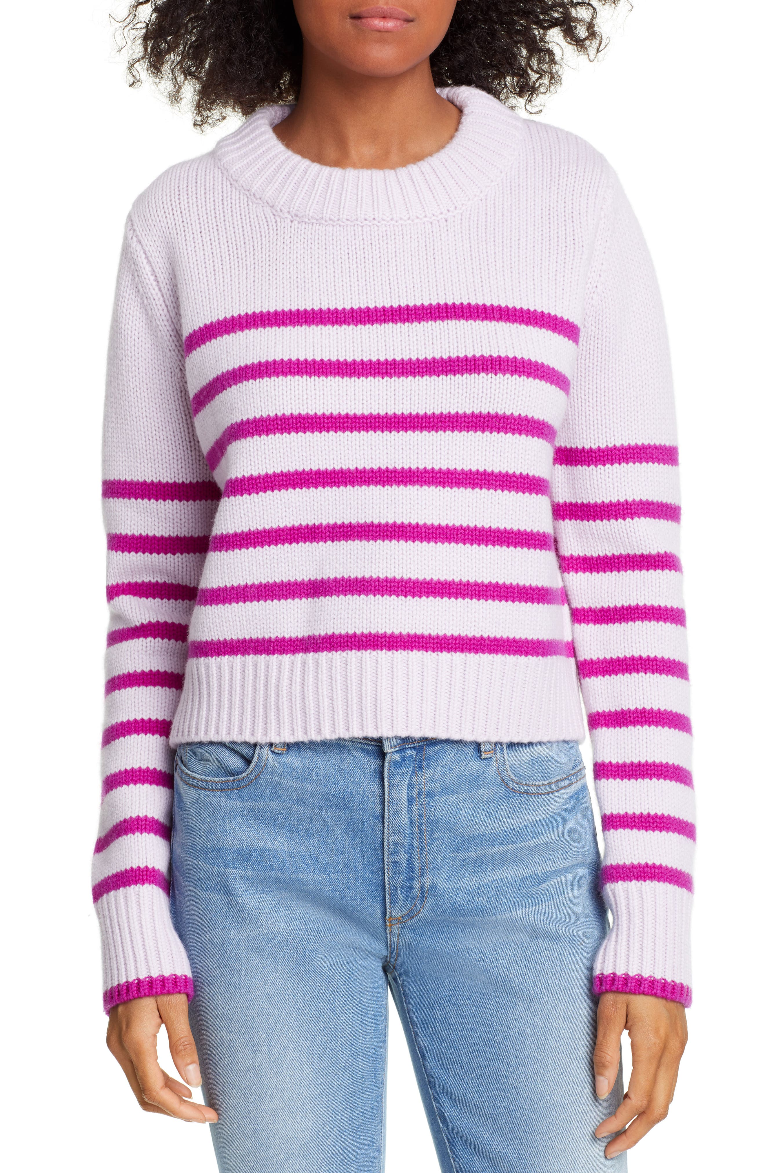 La Ligne Mini Maren Wool & Cashmere Sweater, Purple