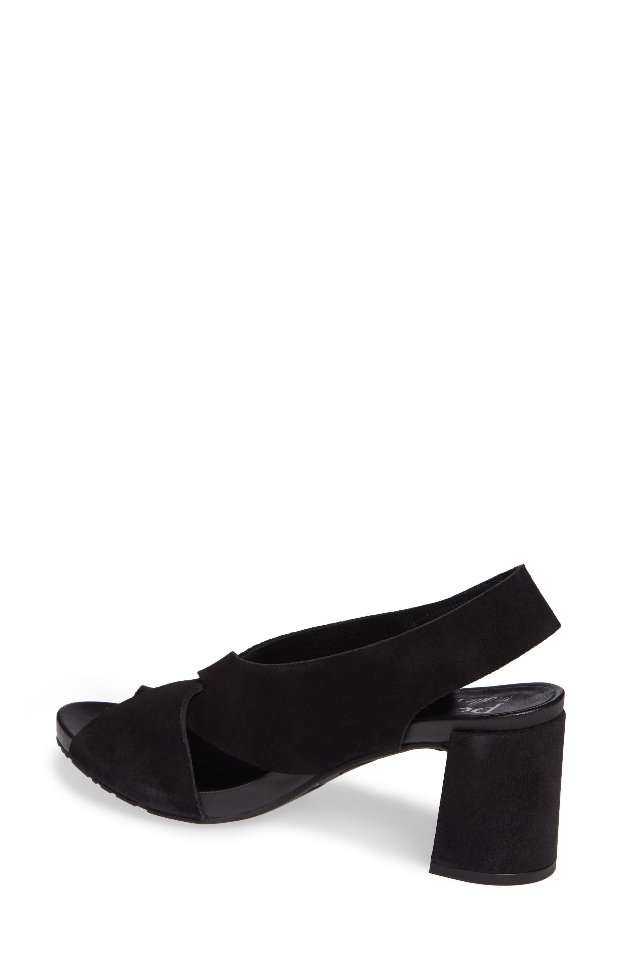 PEDRO GARCIA, Wiela Slingback Sandal, Alternate thumbnail 2, color, BLACK CASTORO