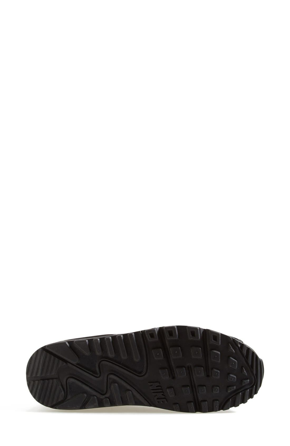 NIKE, 'Air Max 90 - Premium' Sneaker, Alternate thumbnail 2, color, 002