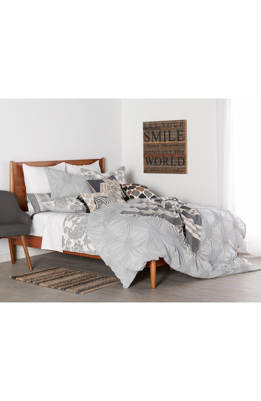 LEVTEX, 'Parma' Stitch Pillow, Alternate thumbnail 3, color, 200