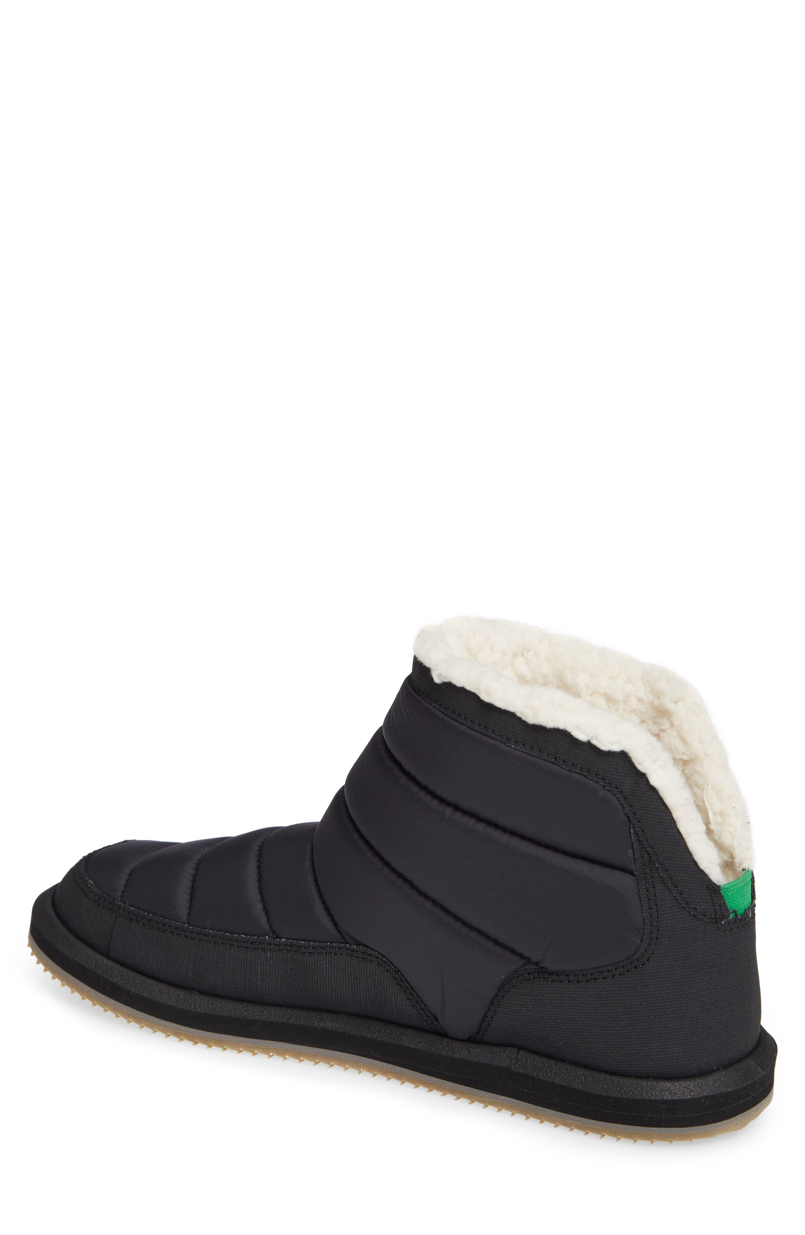 SANUK, Puff & Chill Weather Boot, Alternate thumbnail 2, color, 001