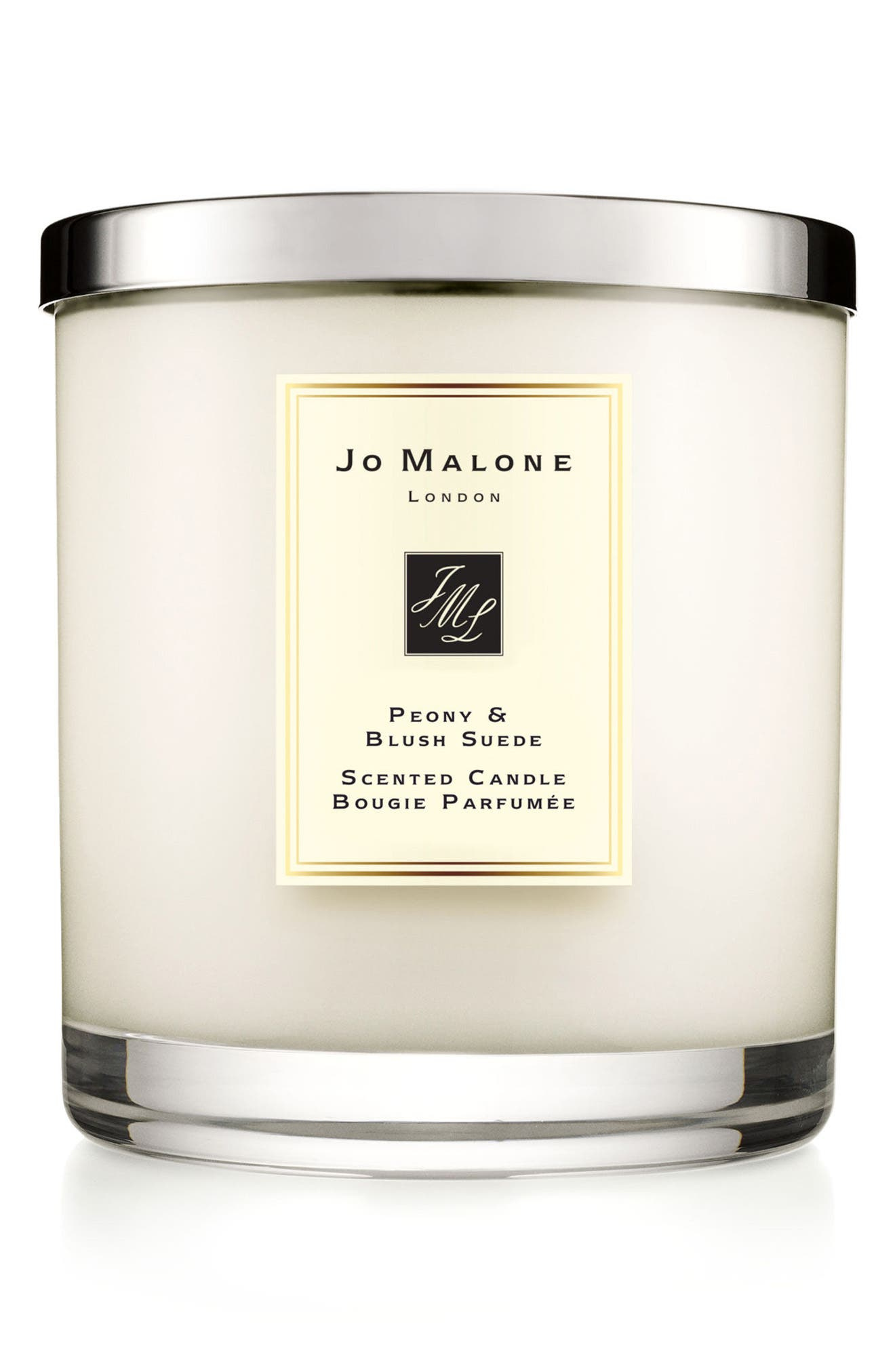 JO MALONE LONDON<SUP>™</SUP>, Peony & Blush Suede Luxury Scented Candle, Main thumbnail 1, color, NO COLOR