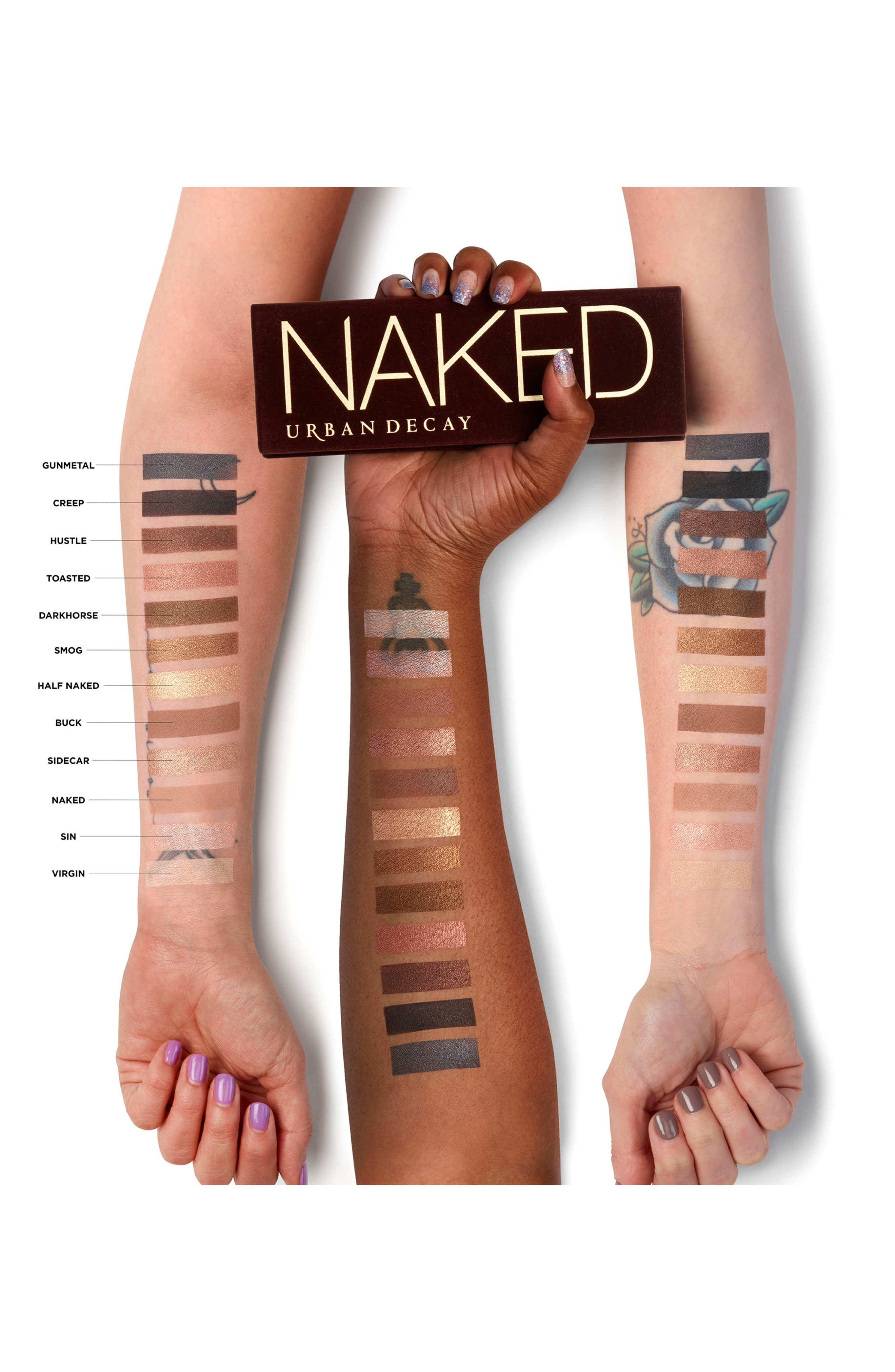 URBAN DECAY, Naked Palette, Alternate thumbnail 7, color, 002