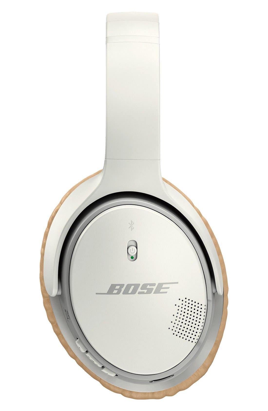 BOSE<SUP>®</SUP>, SoundLink<sup>®</sup> II Around-Ear Bluetooth<sup>®</sup> Headphones, Alternate thumbnail 3, color, WHITE