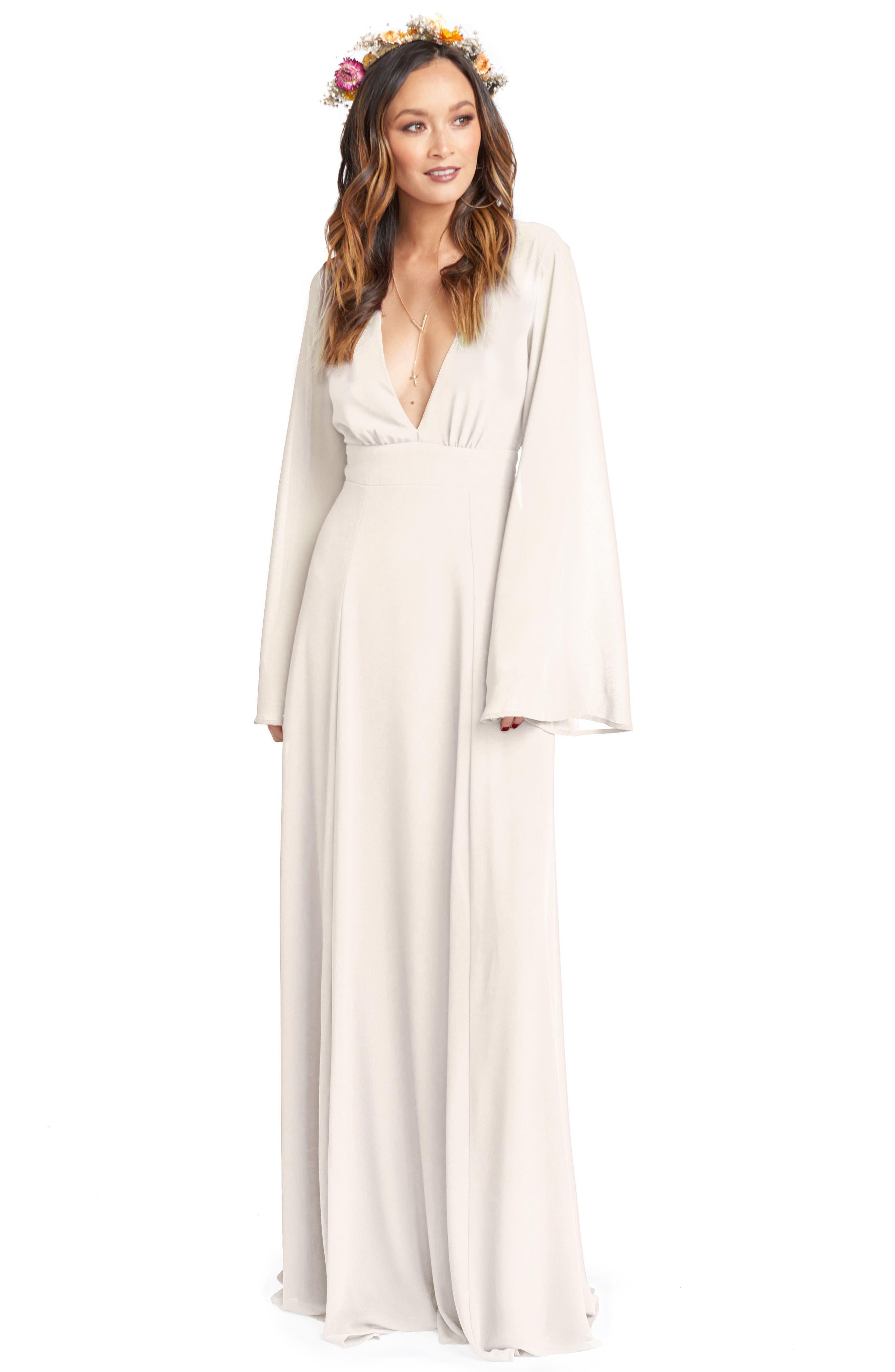 SHOW ME YOUR MUMU, Maxi Dress, Alternate thumbnail 3, color, 906