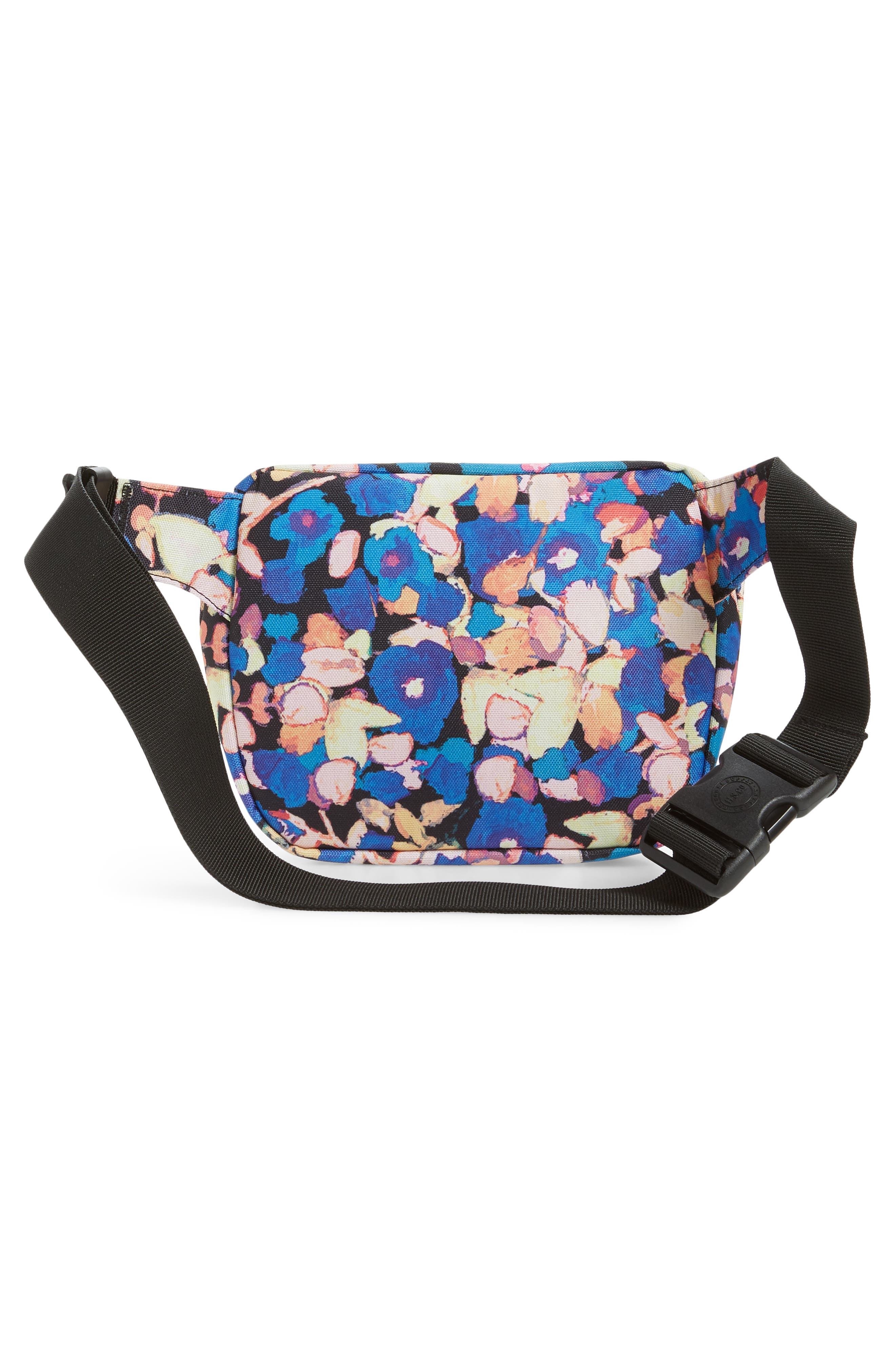 HERSCHEL SUPPLY CO., Fifteen Belt Bag, Alternate thumbnail 5, color, PAINTED FLORAL