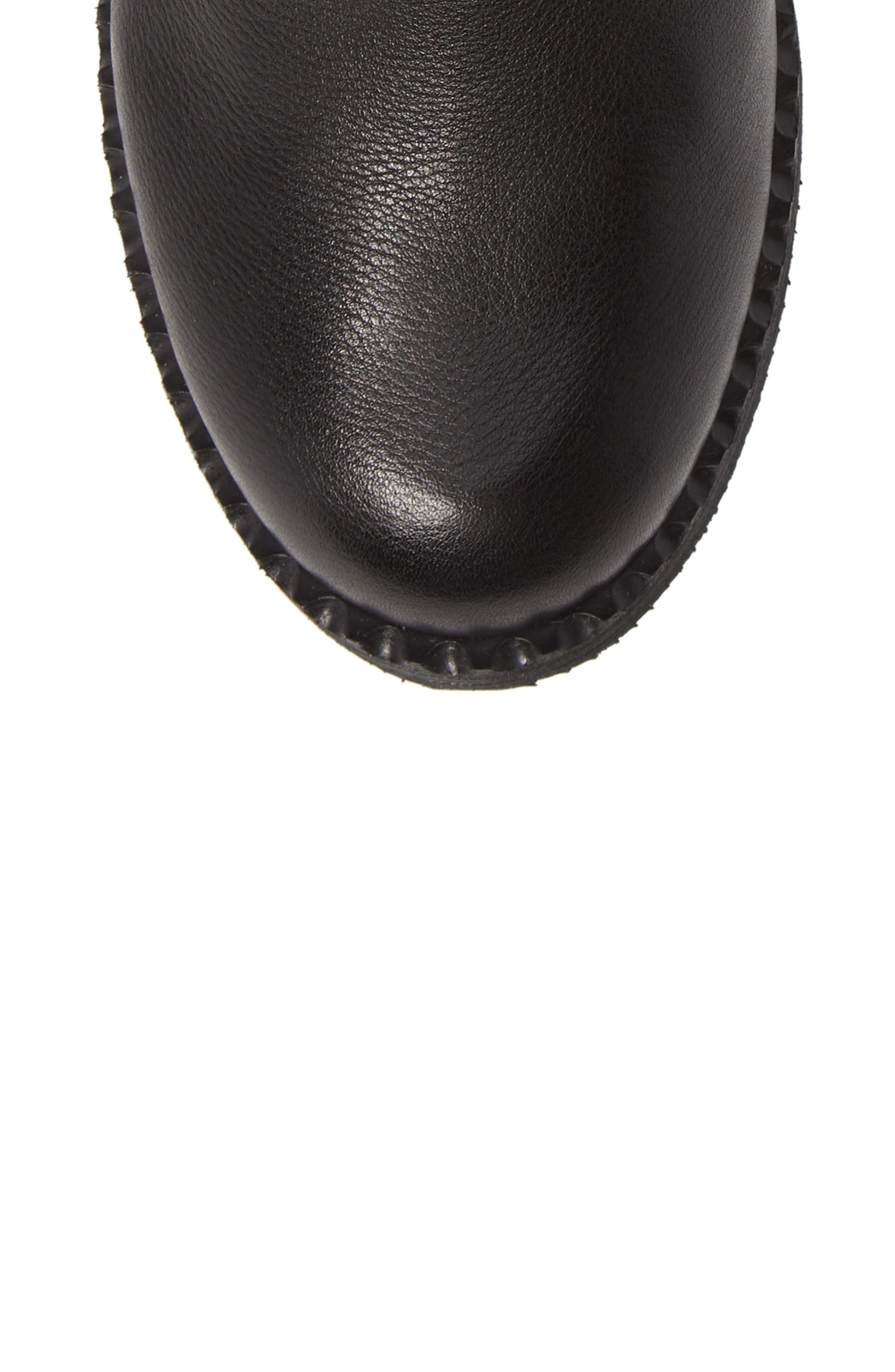 GENTLE SOULS BY KENNETH COLE, Best 3-Buckle Boot, Alternate thumbnail 5, color, 001