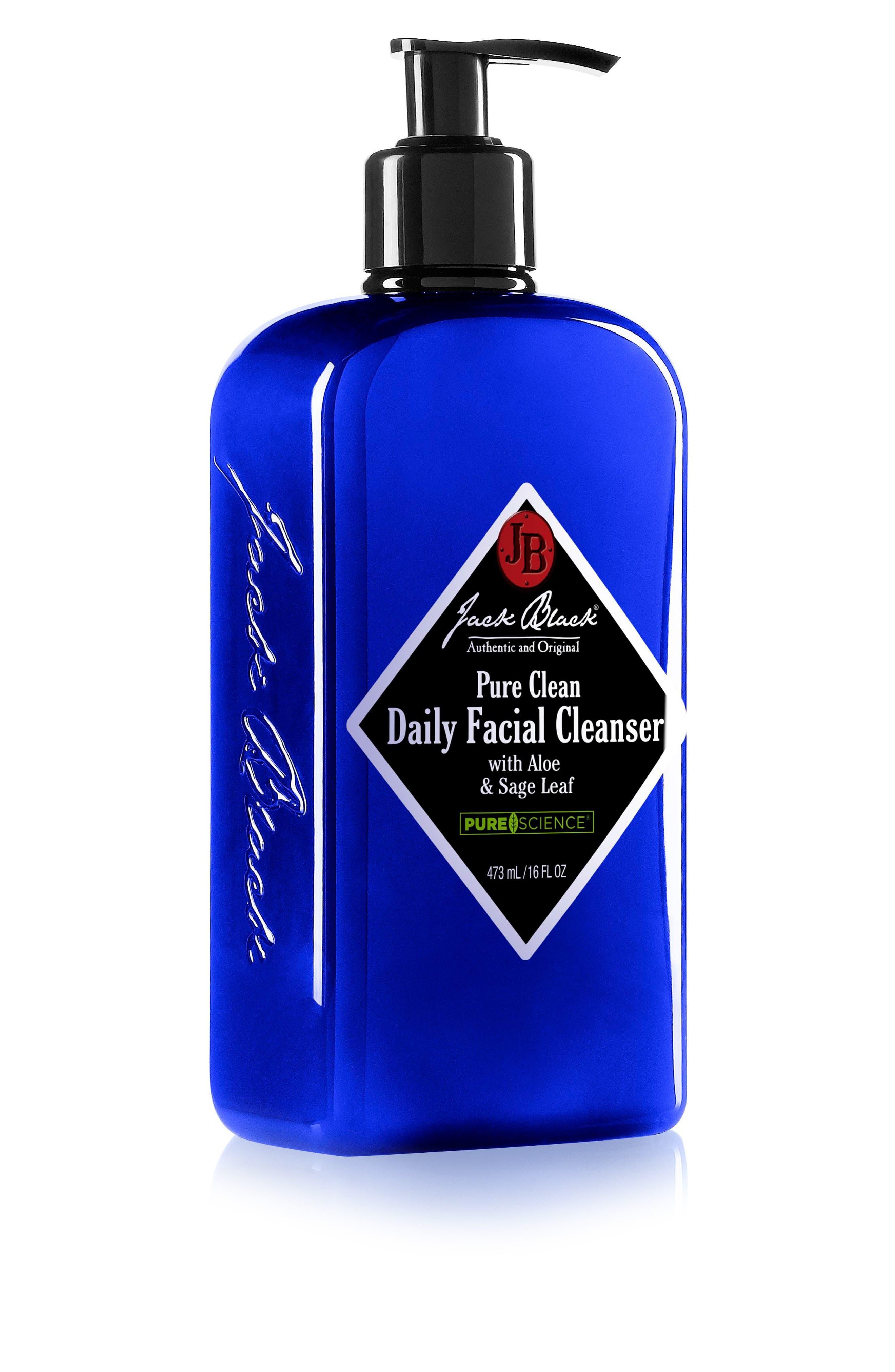 JACK BLACK, Pure Clean Daily Facial Cleanser, Alternate thumbnail 4, color, NO COLOR