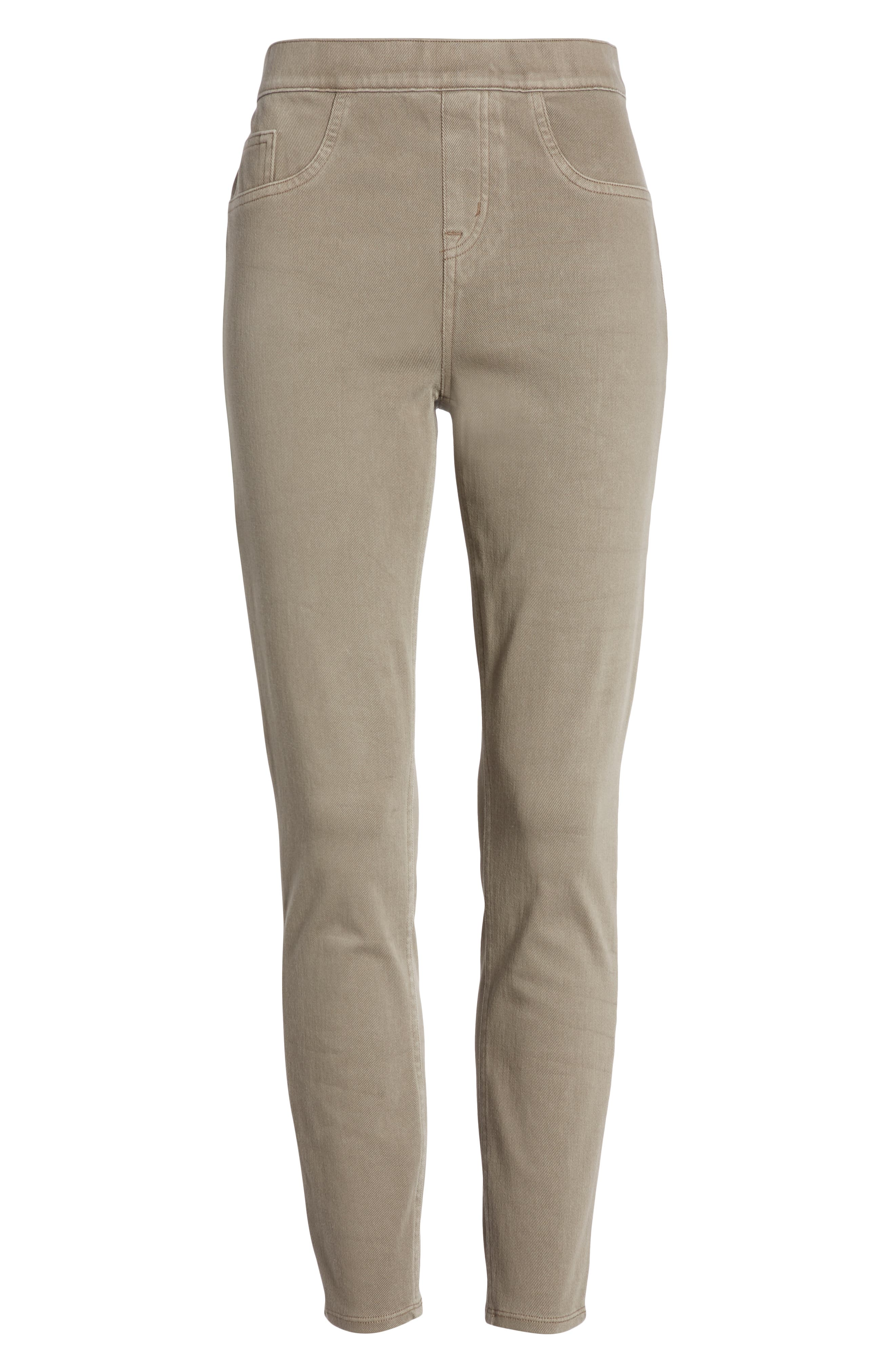 SPANX<SUP>®</SUP>, Jean-ish Leggings, Alternate thumbnail 7, color, EARTHY TAUPE