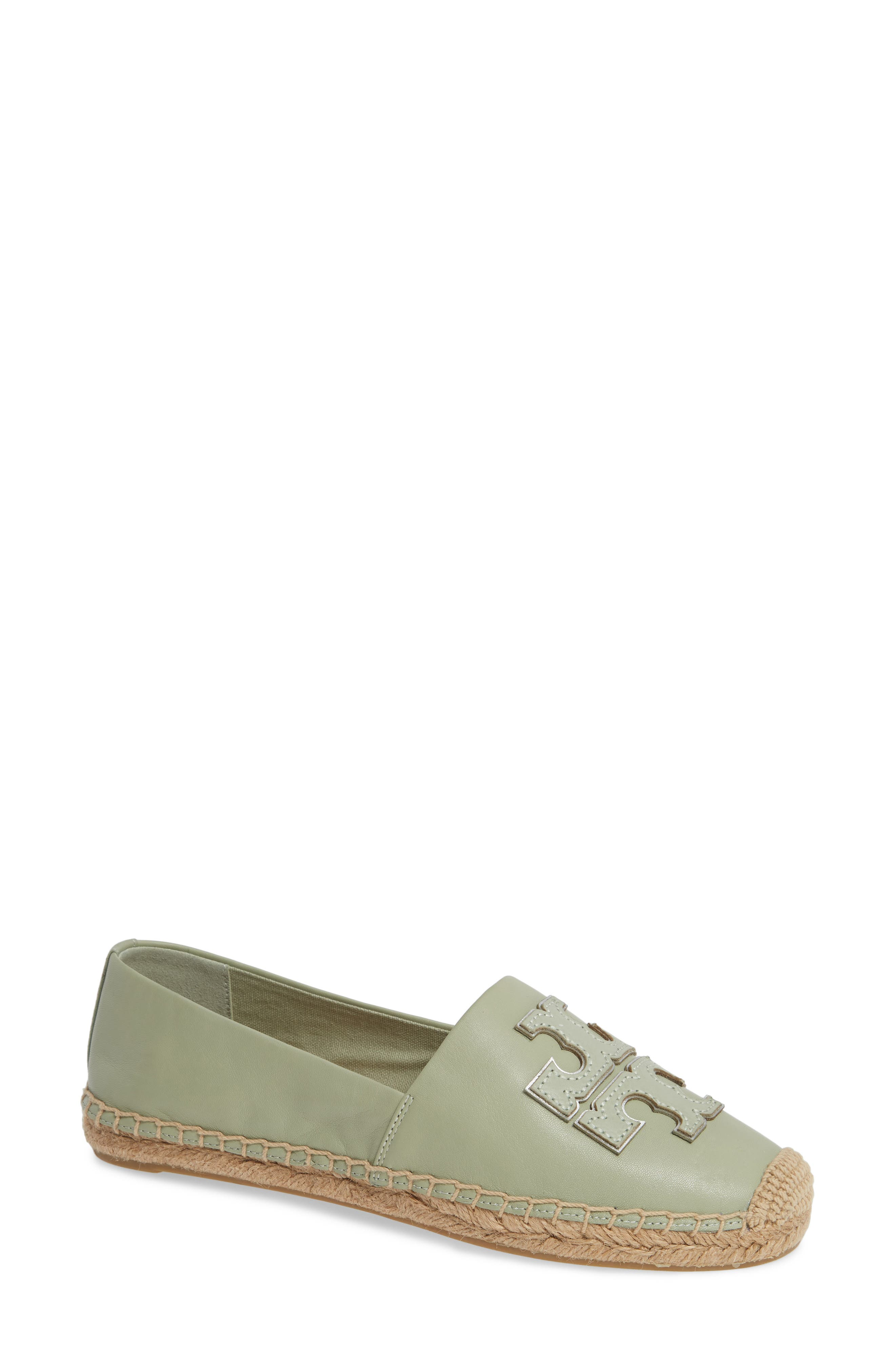 TORY BURCH, Ines Espadrille, Main thumbnail 1, color, GARDEN SAGE / SILVER