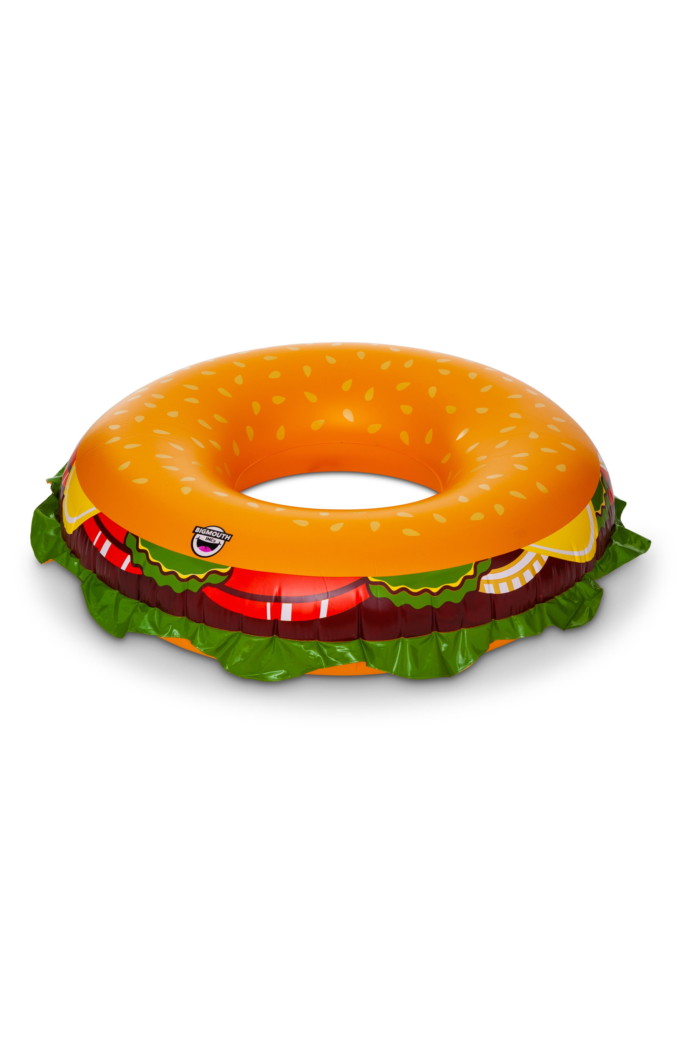 BIGMOUTH INC Cheeseburger Pool Float, Main, color, MULTI