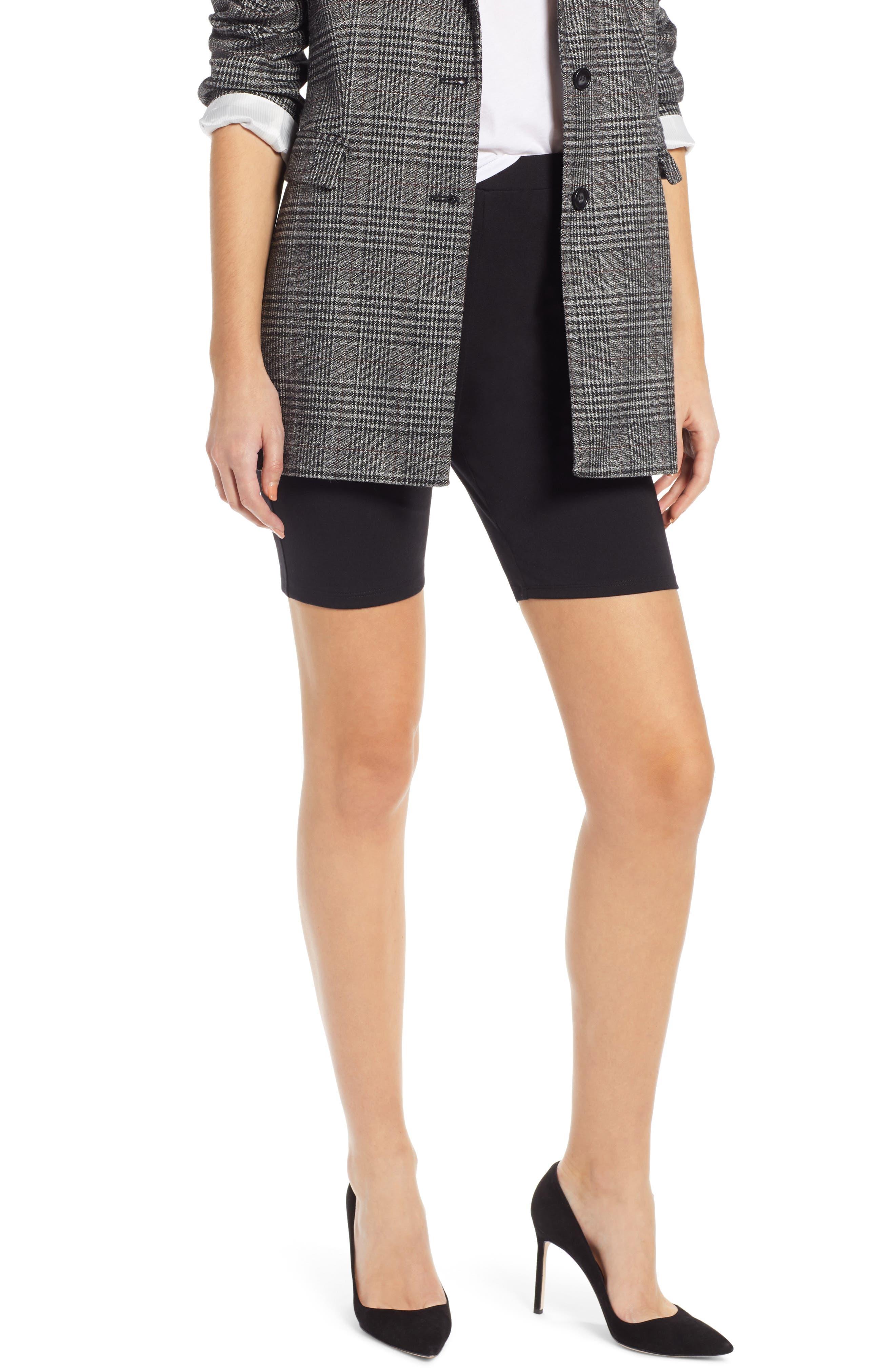 SOMETHING NAVY Bike Shorts, Main, color, 001