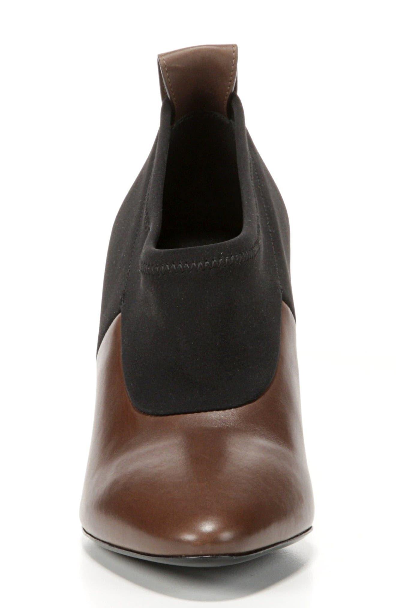 VIA SPIGA, Bayne Block Heel Bootie, Alternate thumbnail 4, color, 250