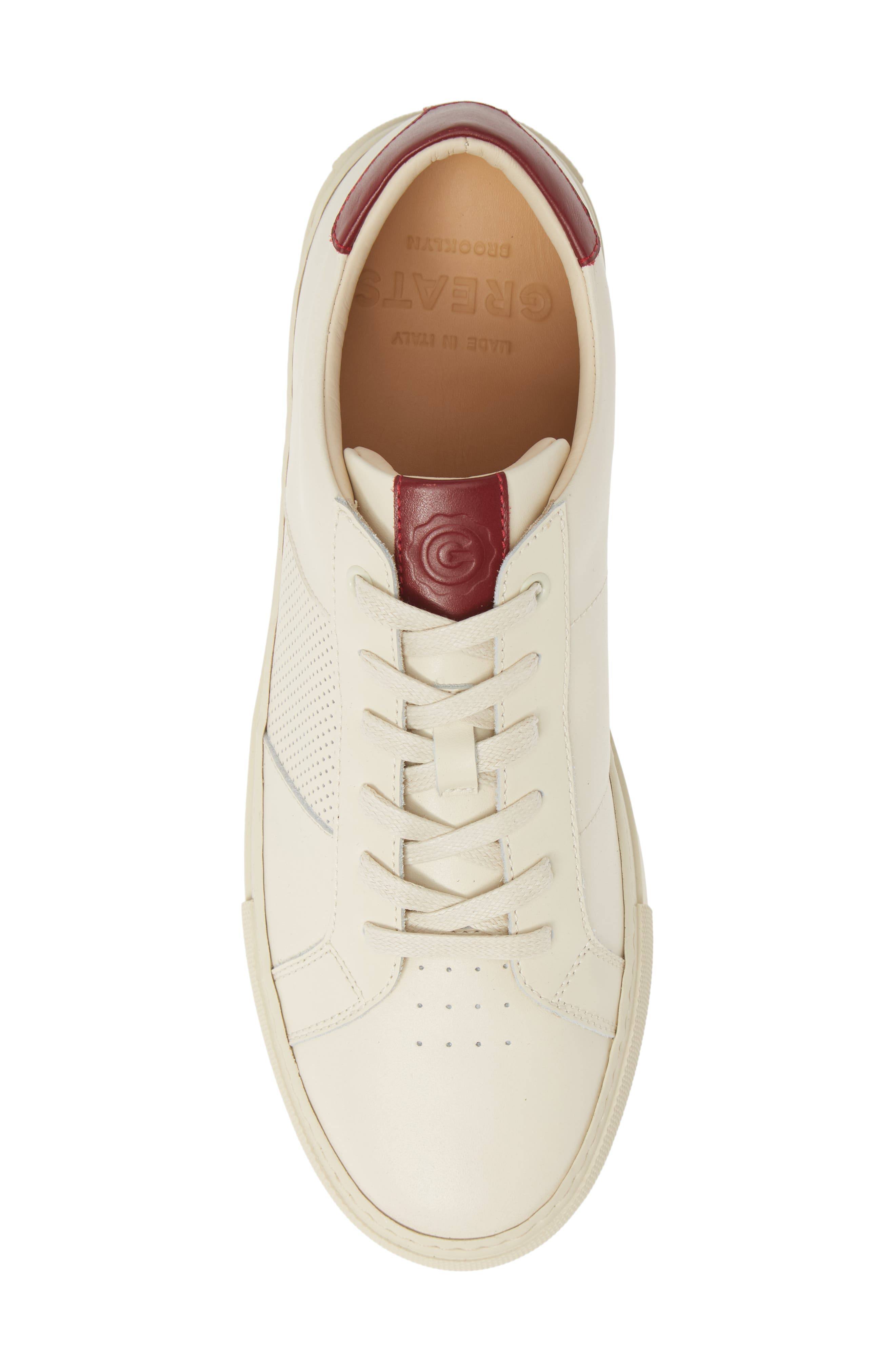 GREATS, Royale Sneaker, Alternate thumbnail 5, color, 112
