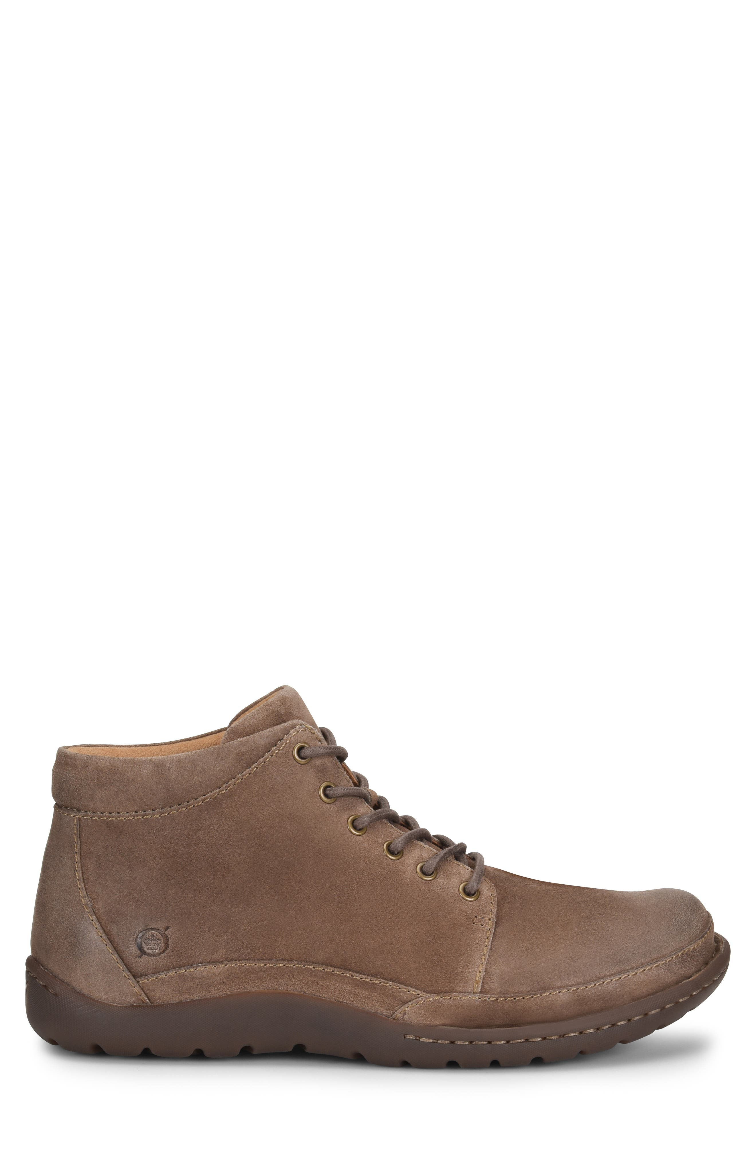BØRN, Nigel Low Boot, Alternate thumbnail 3, color, TAUPE LEATHER
