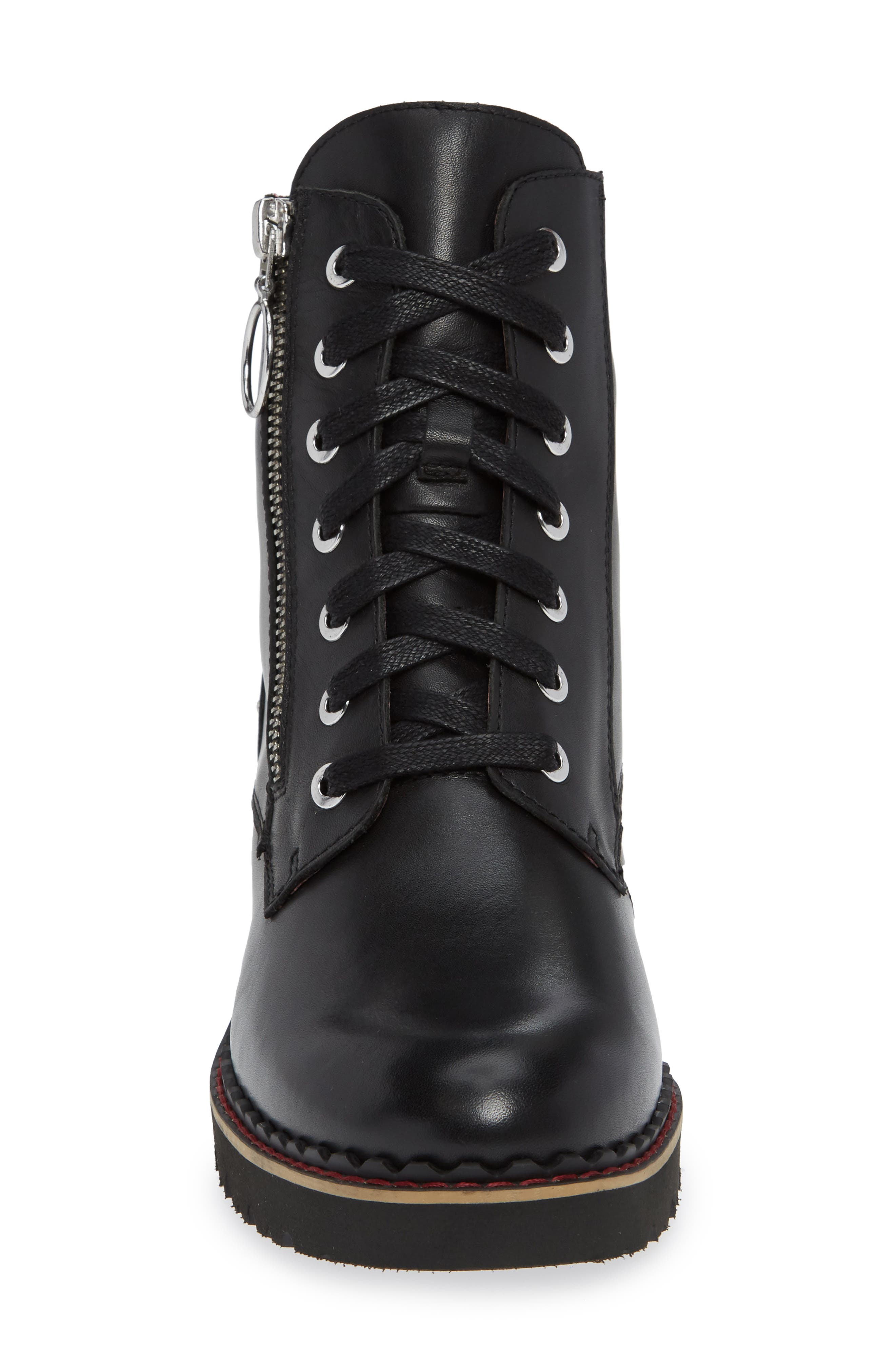PIKOLINOS, Vicar Boot, Alternate thumbnail 4, color, BLACK LEATHER
