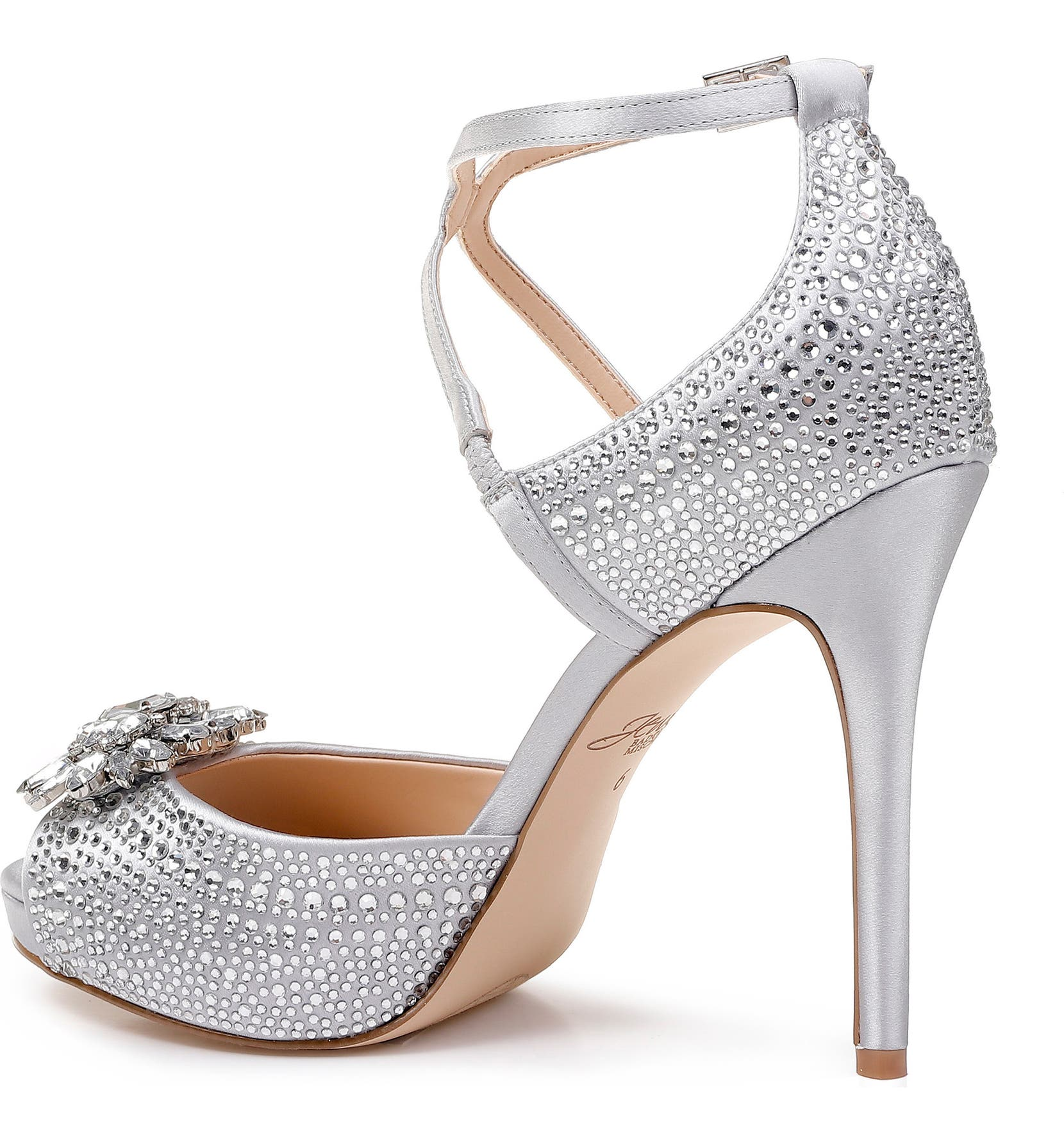0843535e2ccb Jewel Badgley Mischka Zaina Platform Sandal (Women)