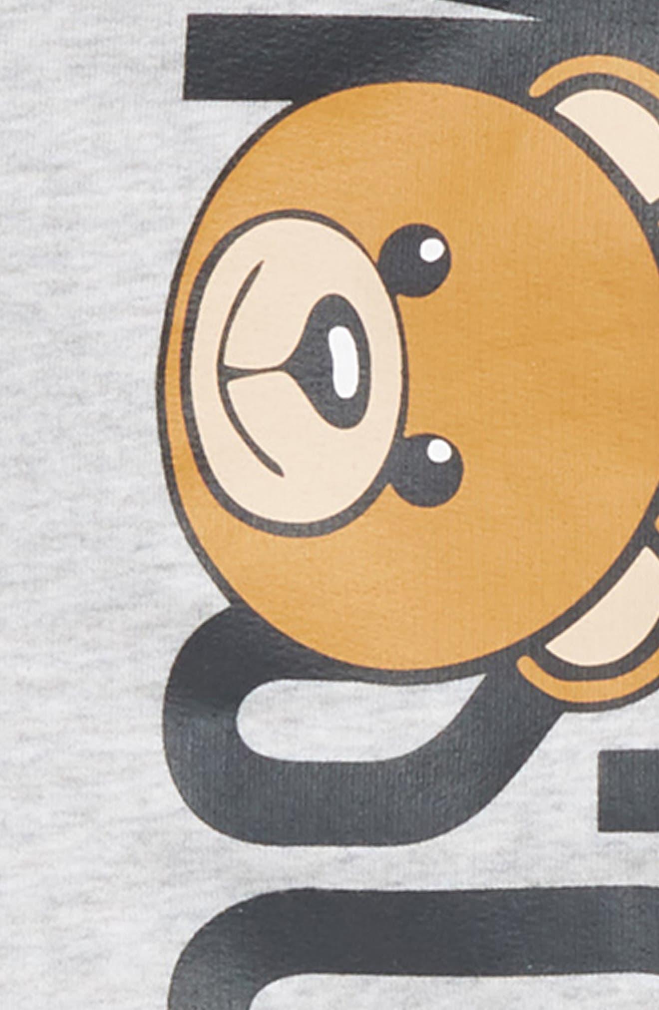 MOSCHINO, Logo Track Jacket & Jogger Pants Set, Alternate thumbnail 2, color, 020