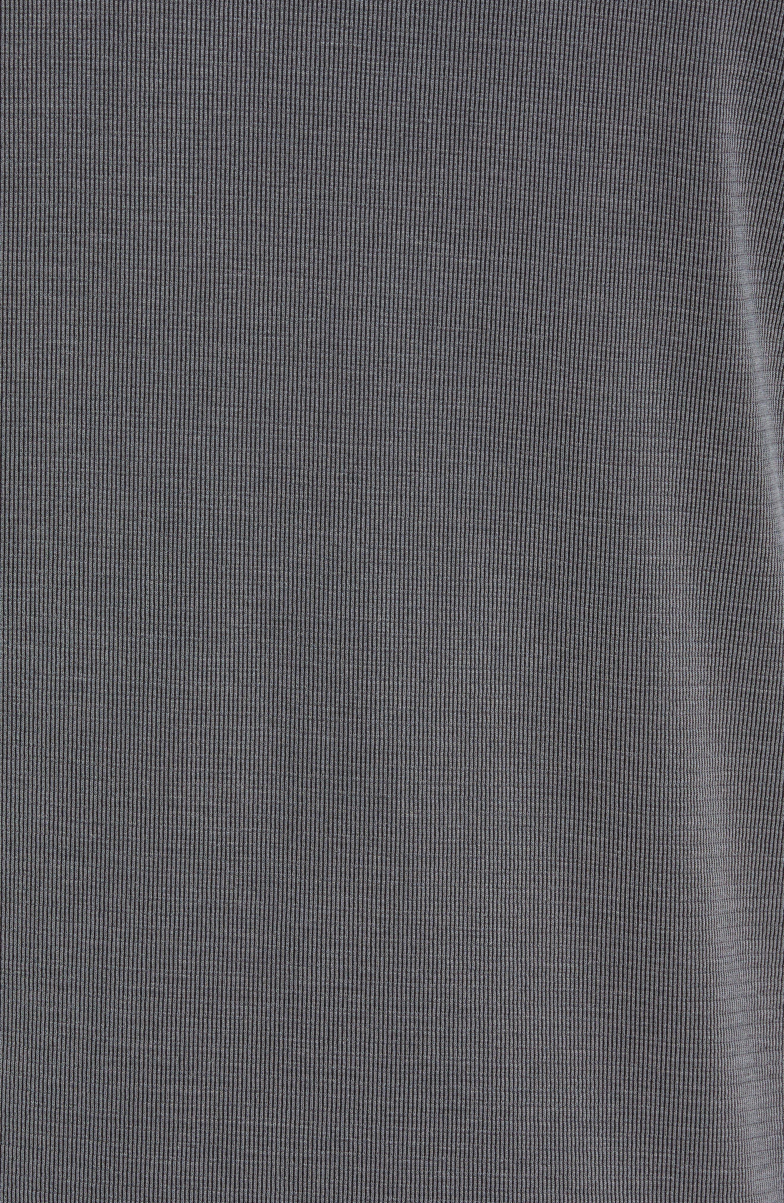 TOMMY BAHAMA, Coastal Crest Regular Fit Polo, Alternate thumbnail 5, color, BLACK