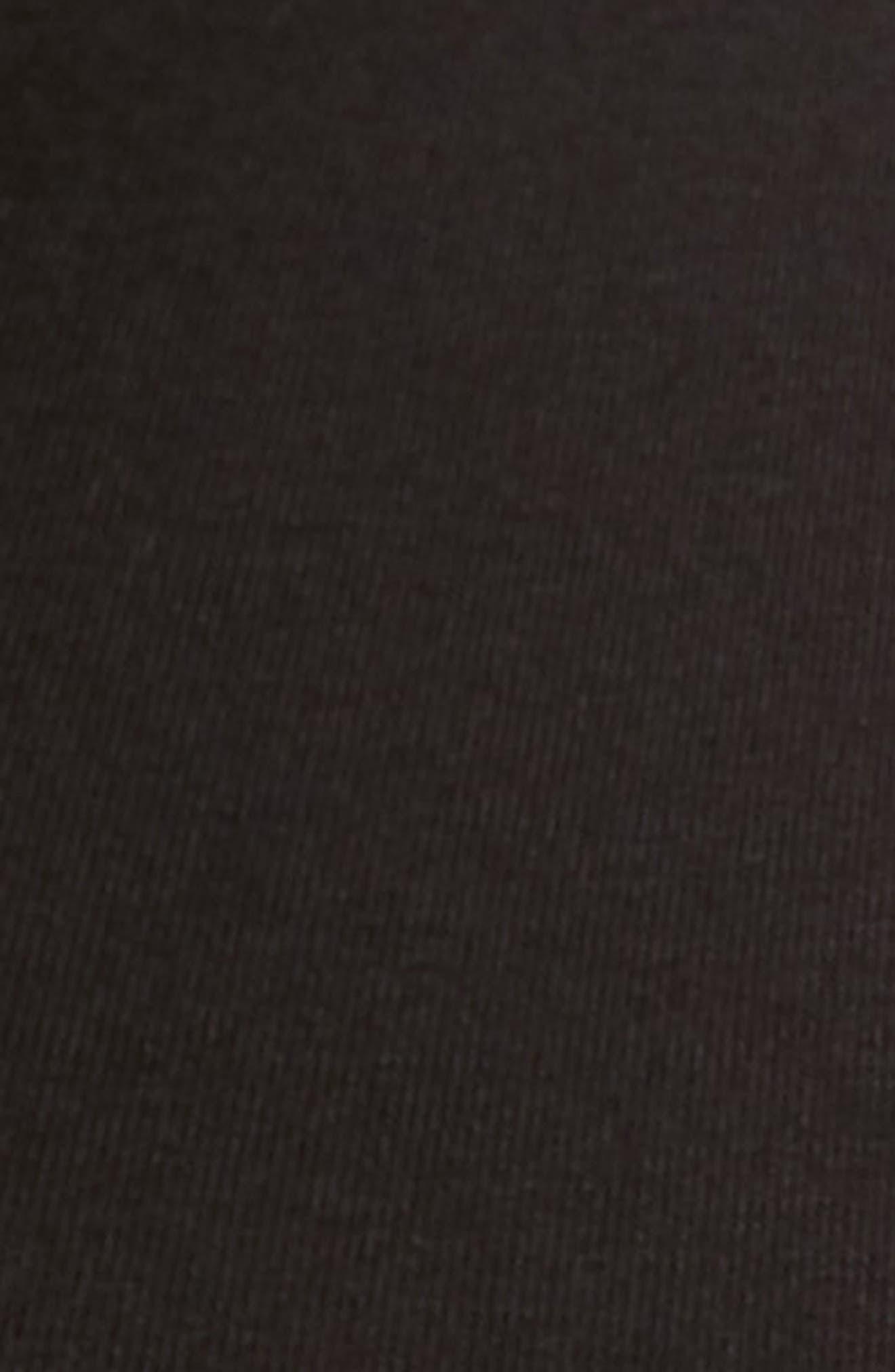 SAXX, 'Vibe' Stretch Boxer Briefs, Alternate thumbnail 5, color, BLACK/ BLACK