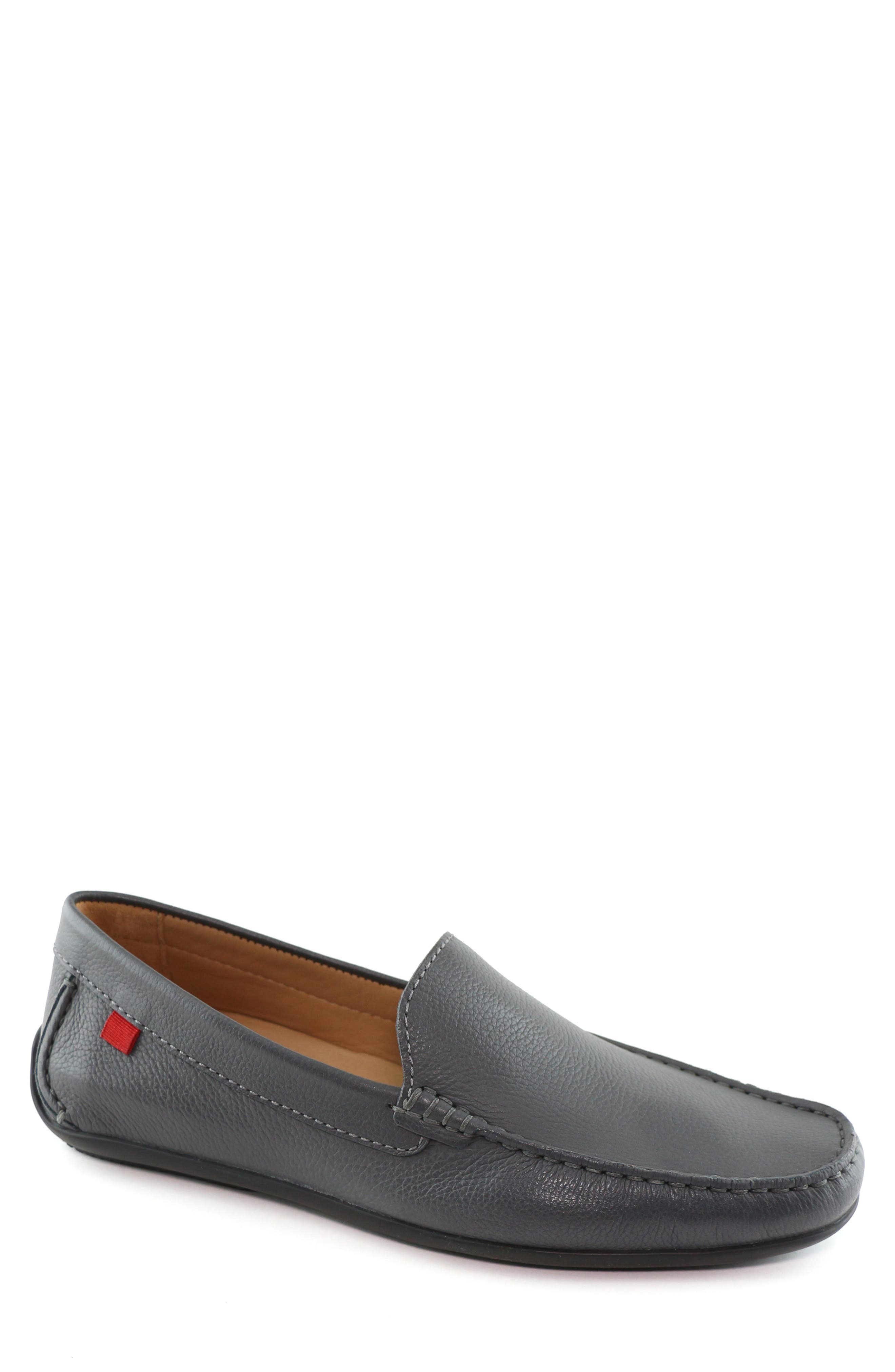MARC JOSEPH NEW YORK 'Broadway' Driving Shoe, Main, color, GREY LEATHER
