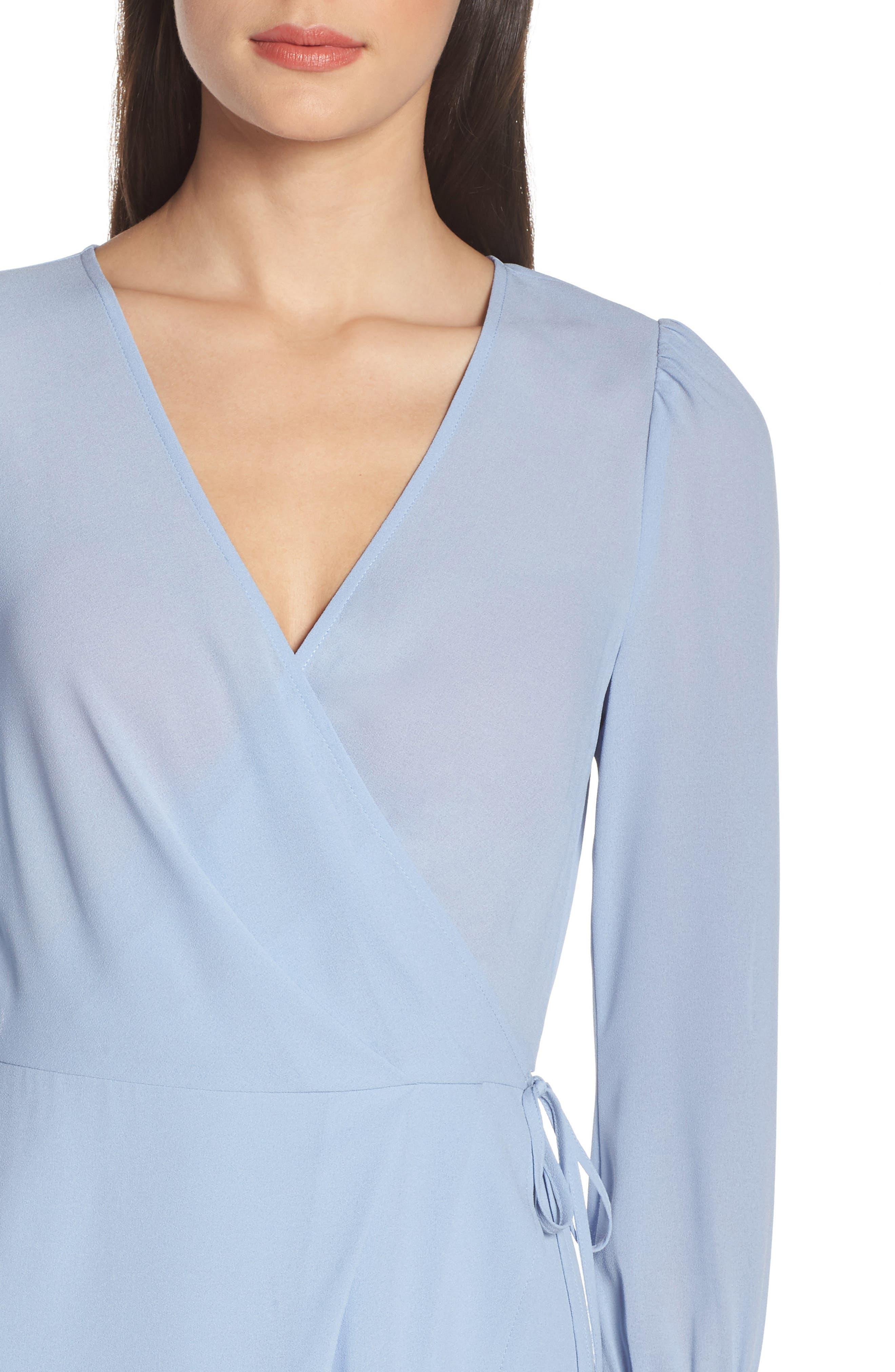ALI & JAY, Garden Stroll Wrap Maxi Dress, Alternate thumbnail 5, color, 400