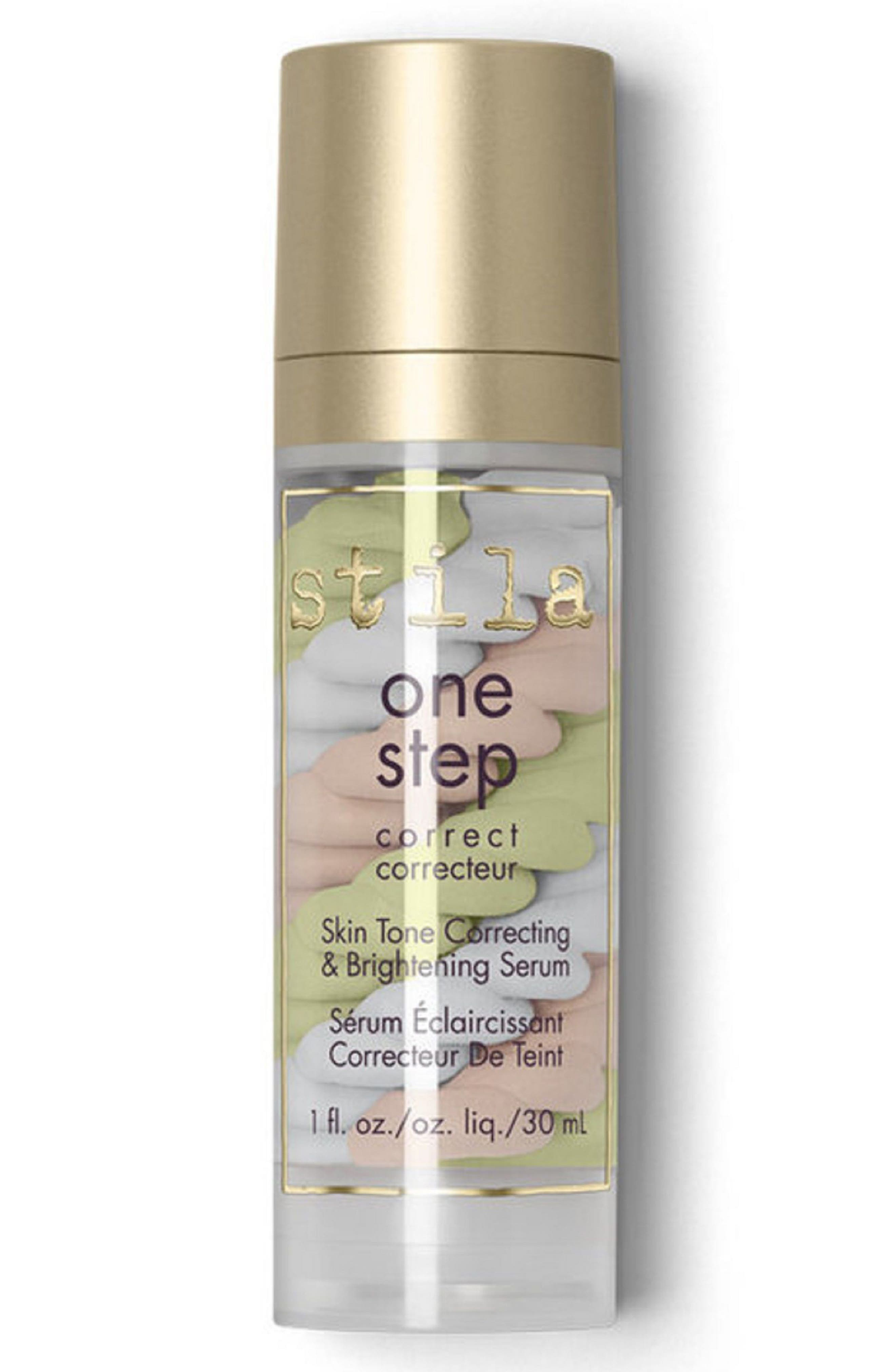 STILA, One Step Correct Skin Tone Correcting Brightening Serum, Main thumbnail 1, color, NO COLOR